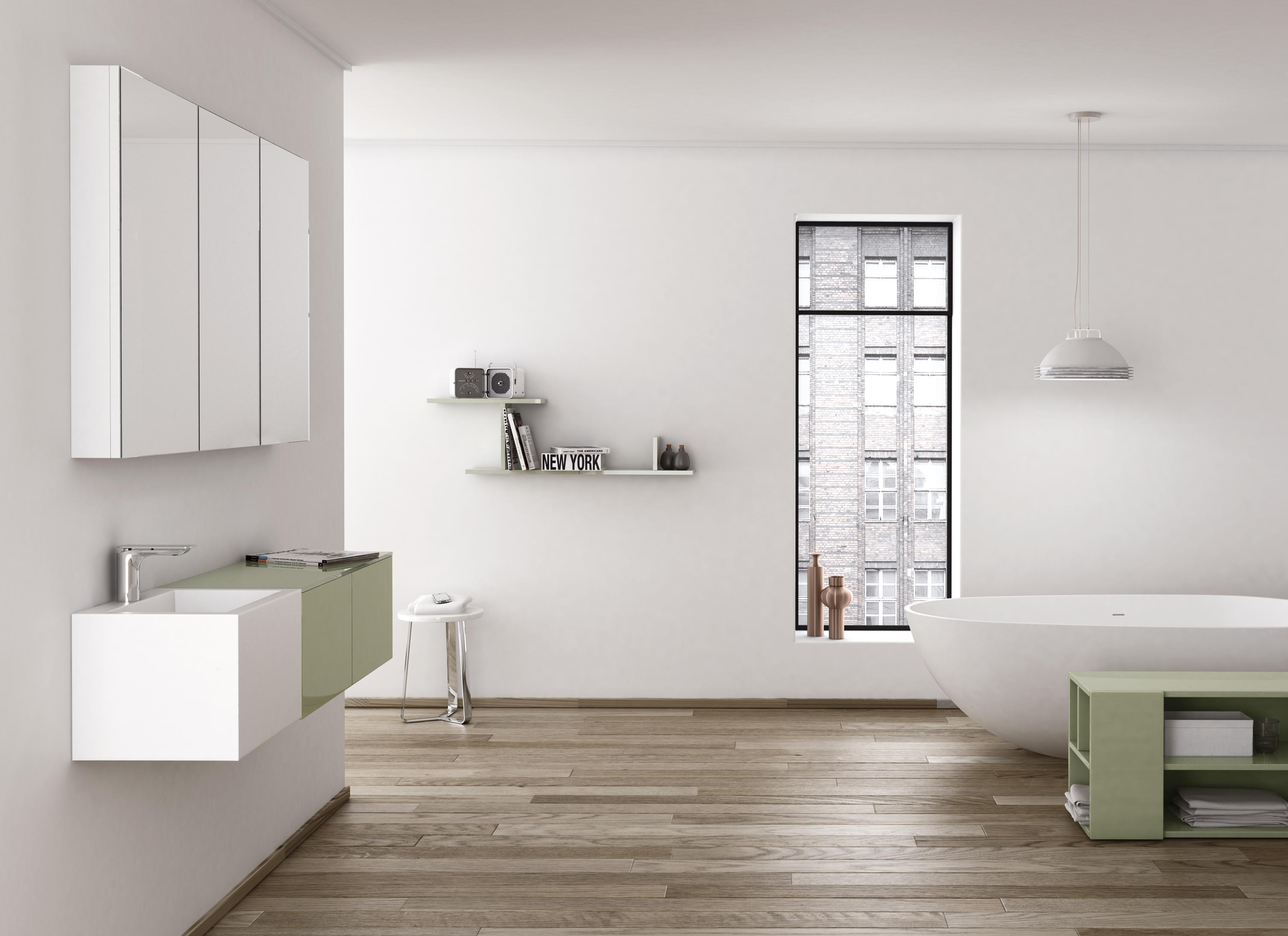 strato bathroom furniture by inbani vanity units - Bathroom Units