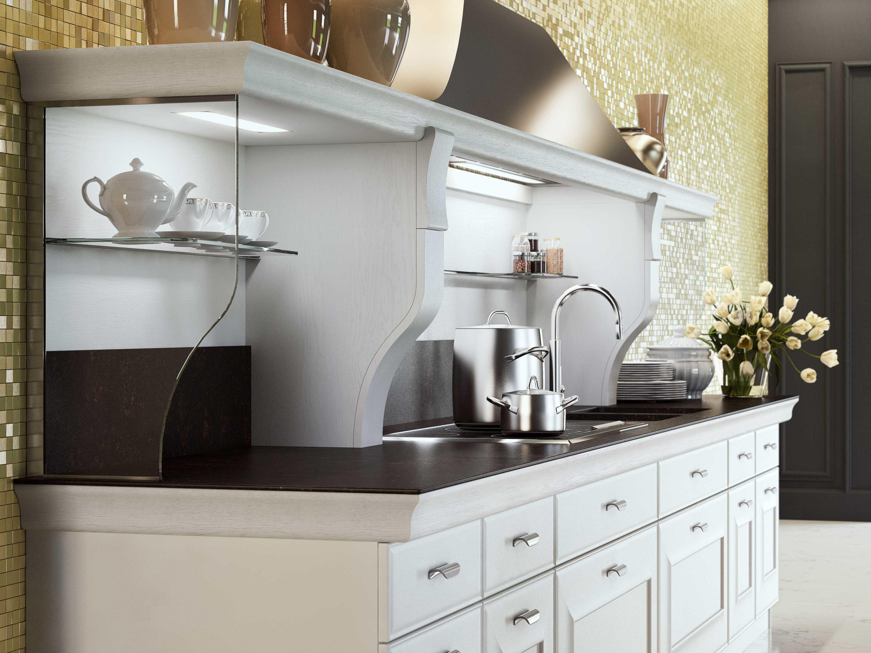 Gioconda fitted kitchens from snaidero architonic for Snaidero kitchen