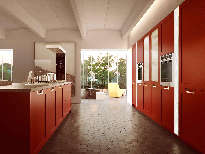 Lux classic cucine a parete snaidero architonic - Cucine a parete ...