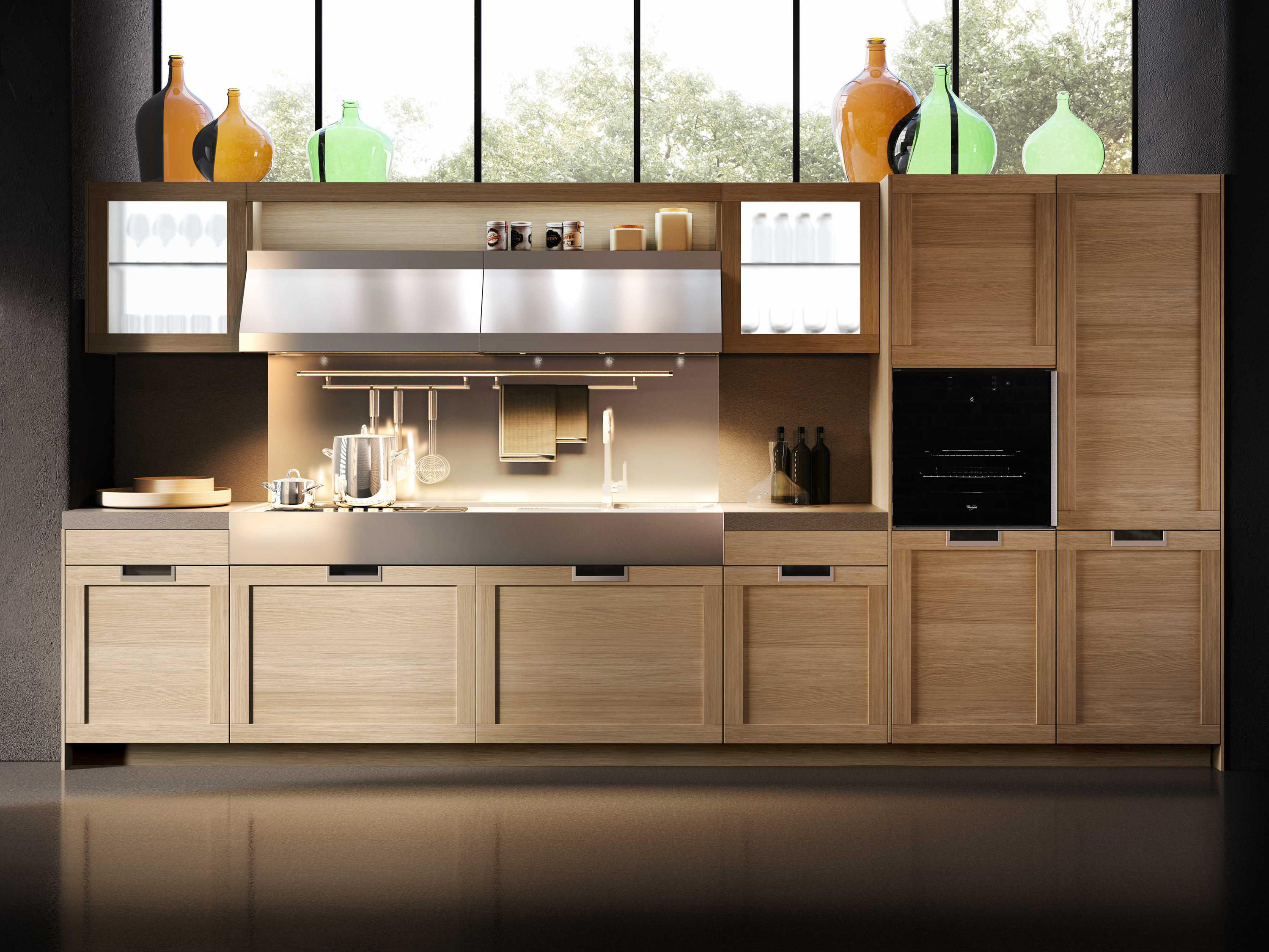 lux classic fitted kitchens from snaidero architonic. Black Bedroom Furniture Sets. Home Design Ideas
