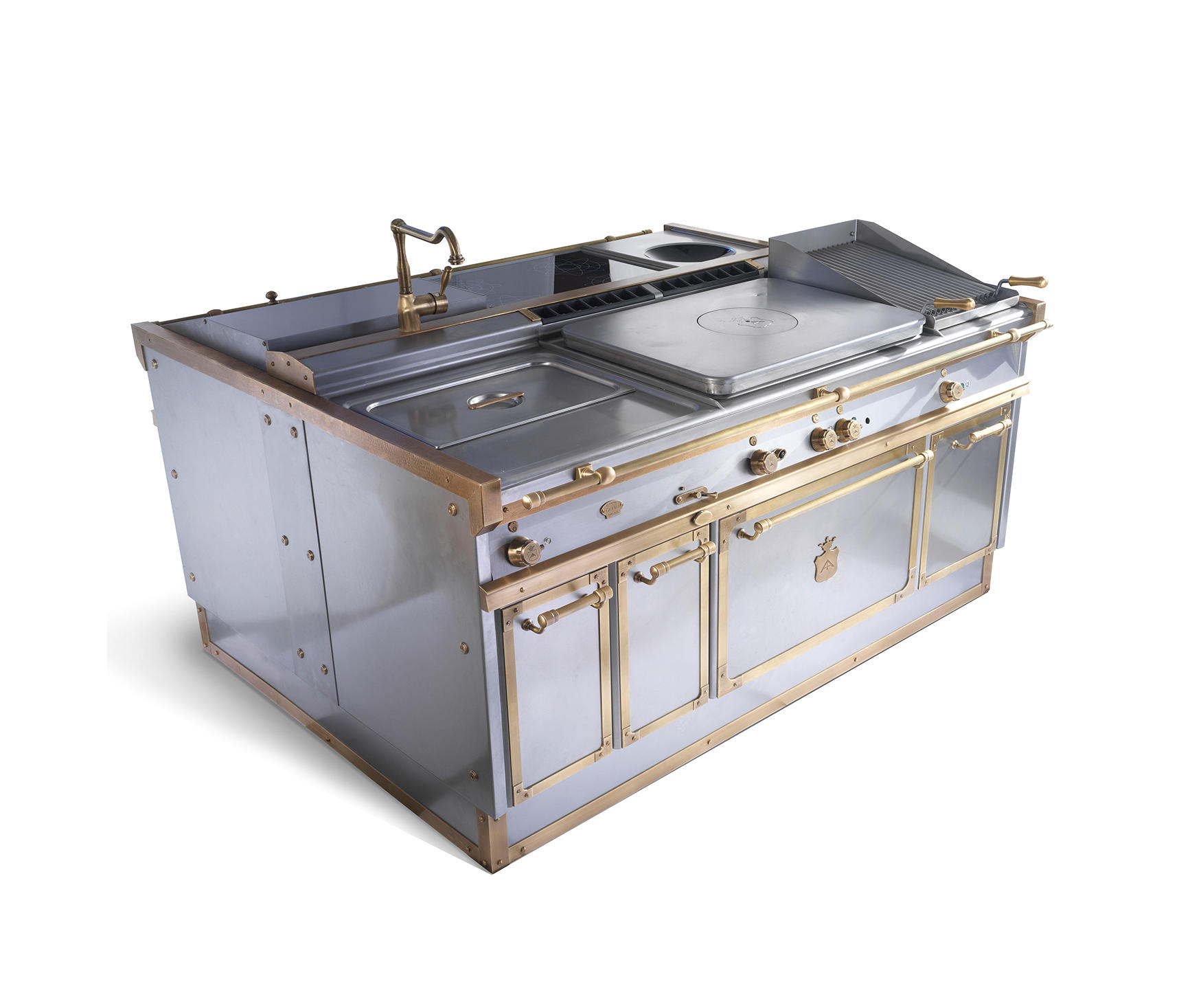 Machines de cuisson p70 le blocs cuisines de officine for Machine de cuisson
