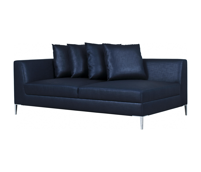 Single Arm Sofa Single Arm Chaise Lounge One Sofa With