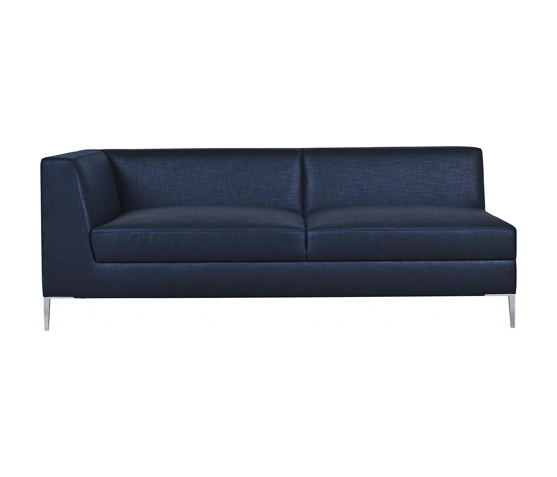 Single Arm Sofa George 94 e Arm Sofa With Chaise Truemodern TheSofa