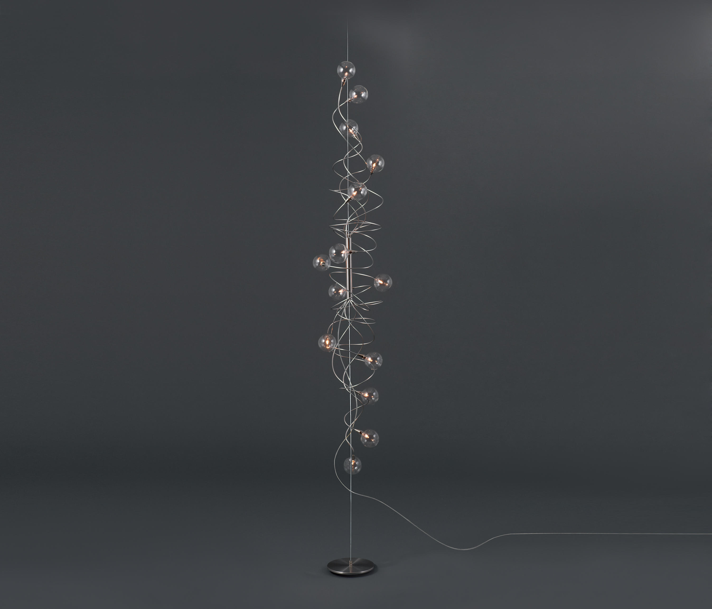 Bubbles Kite Floor Lamp Free Standing Lights From Harco