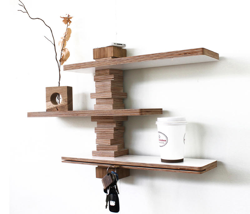 jo 21 wandregal ablagen konsolen von andreas janson. Black Bedroom Furniture Sets. Home Design Ideas