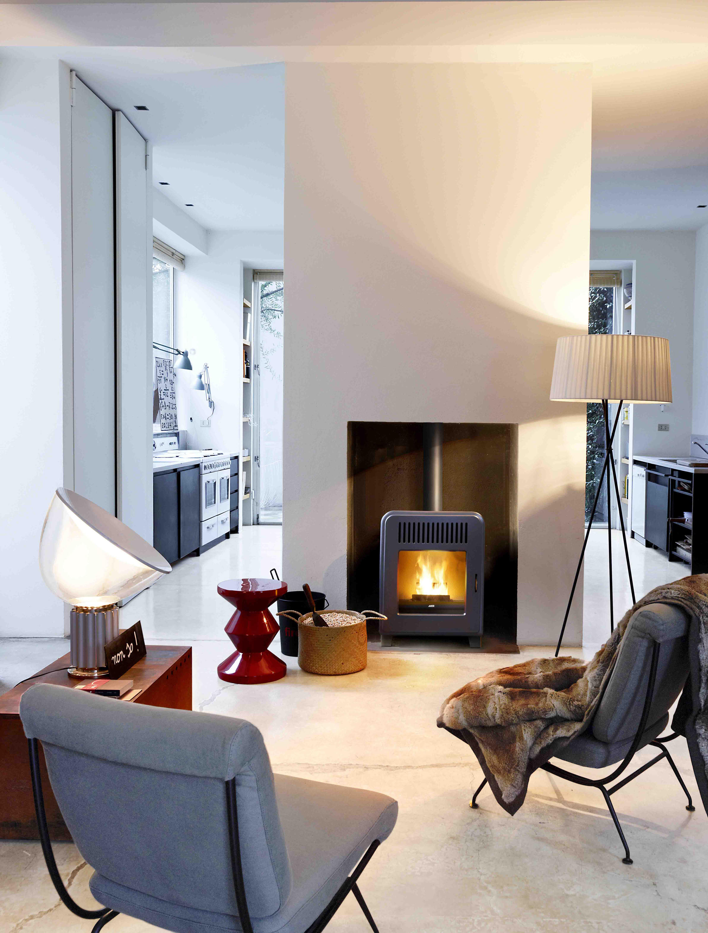 Cute Pellet Stoves From Mcz Architonic