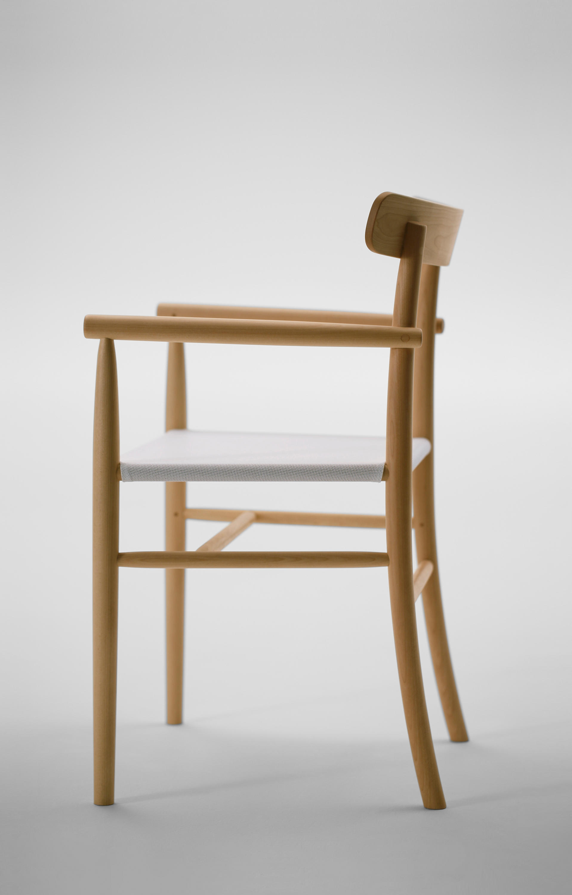 Genial ... Lightwood Arm Chair (Mesh Seat) By MARUNI | Chairs ...