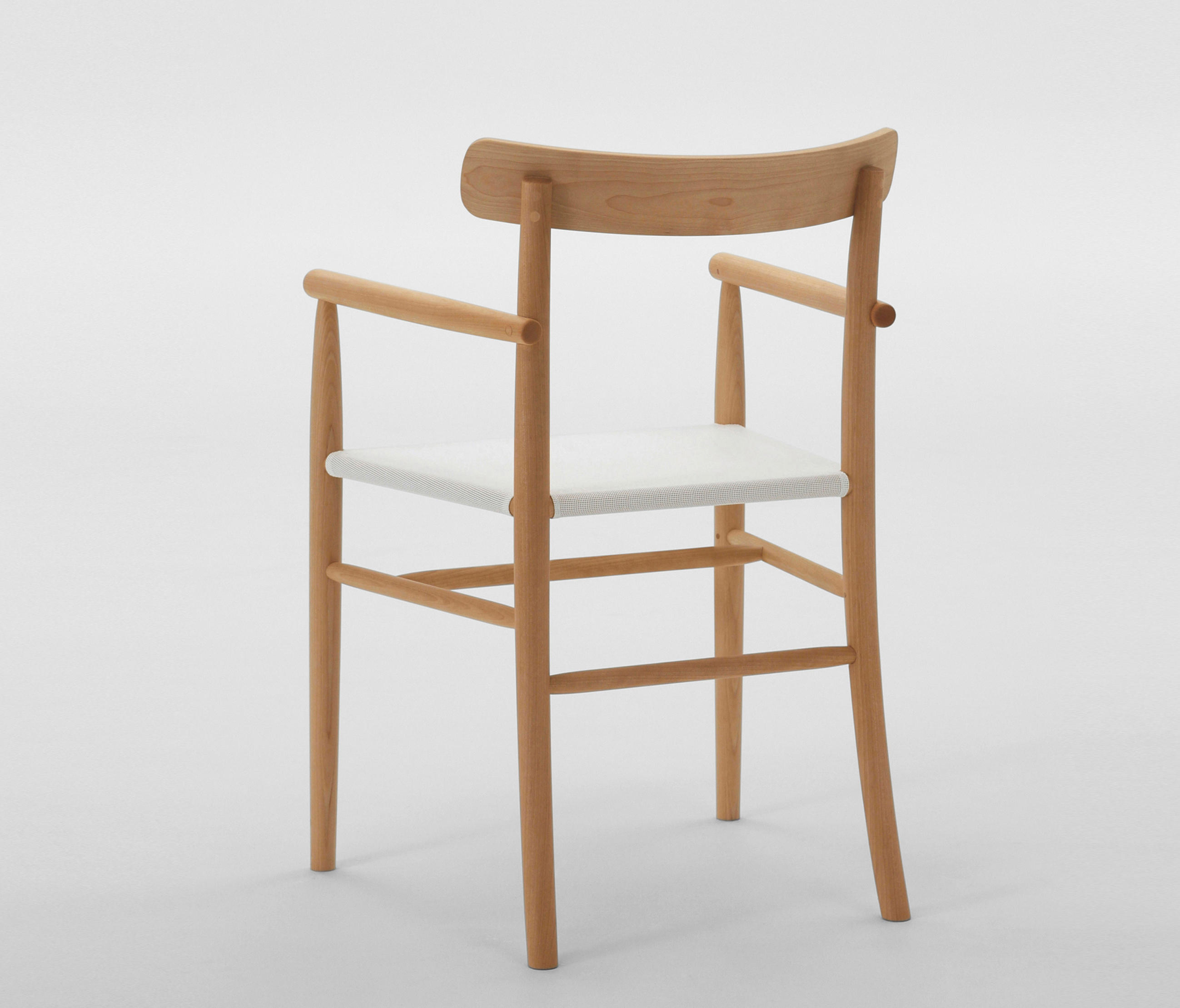 Ordinaire ... Lightwood Arm Chair (Mesh Seat) By MARUNI | Chairs ...
