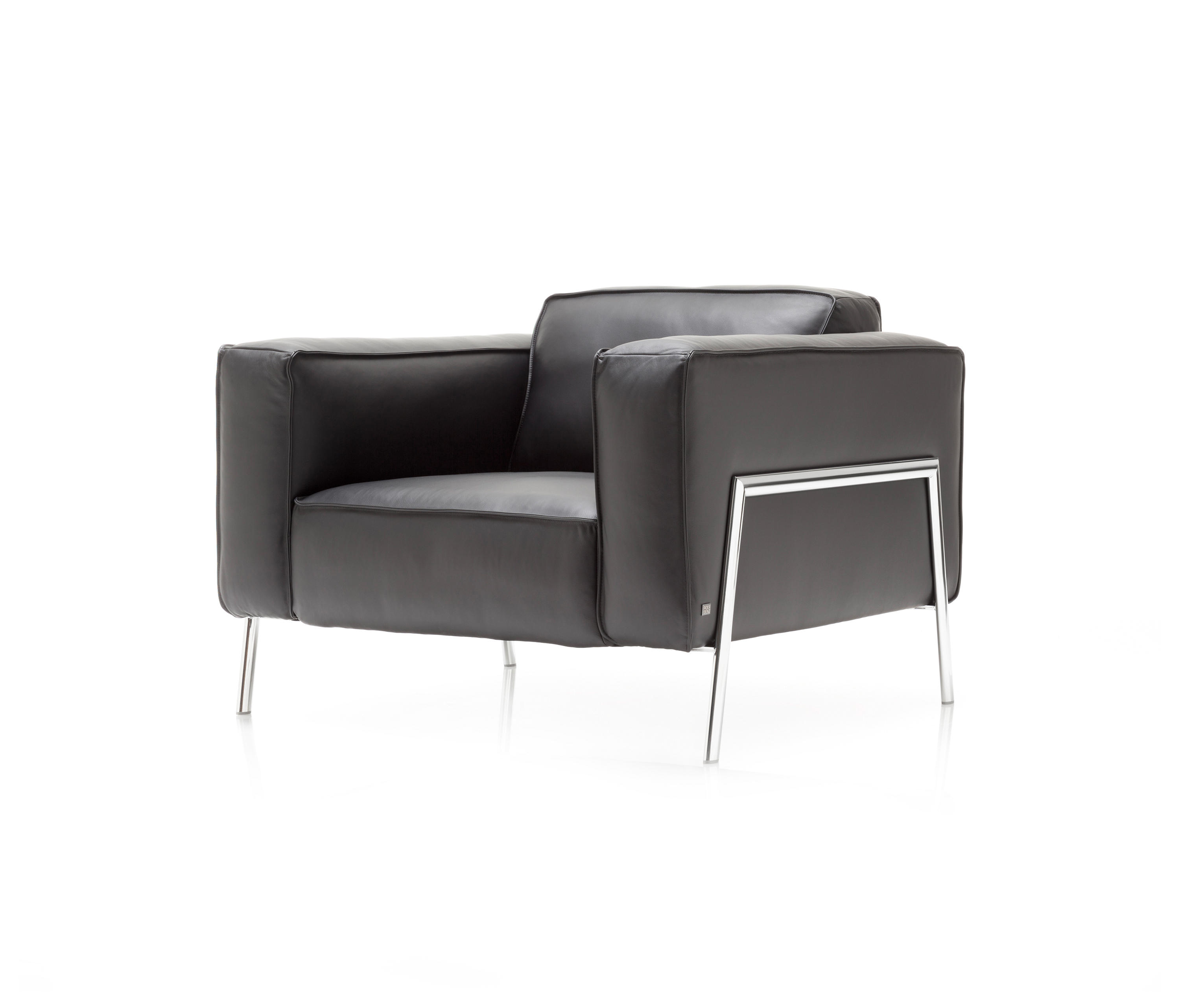 rolf benz bacio lounge chairs by rolf benz architonic. Black Bedroom Furniture Sets. Home Design Ideas