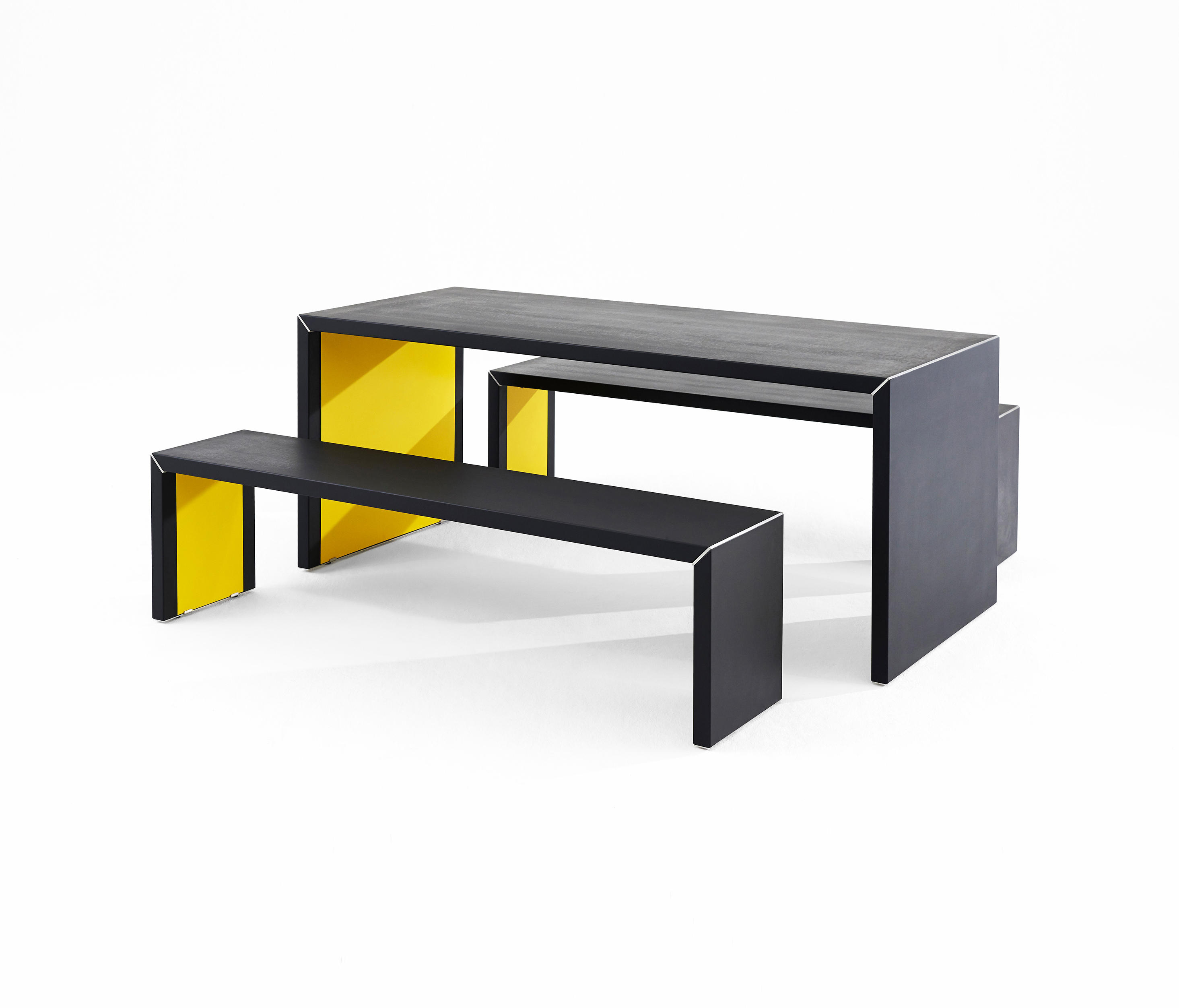 Inside Out Dining Tables From James Burleigh Architonic