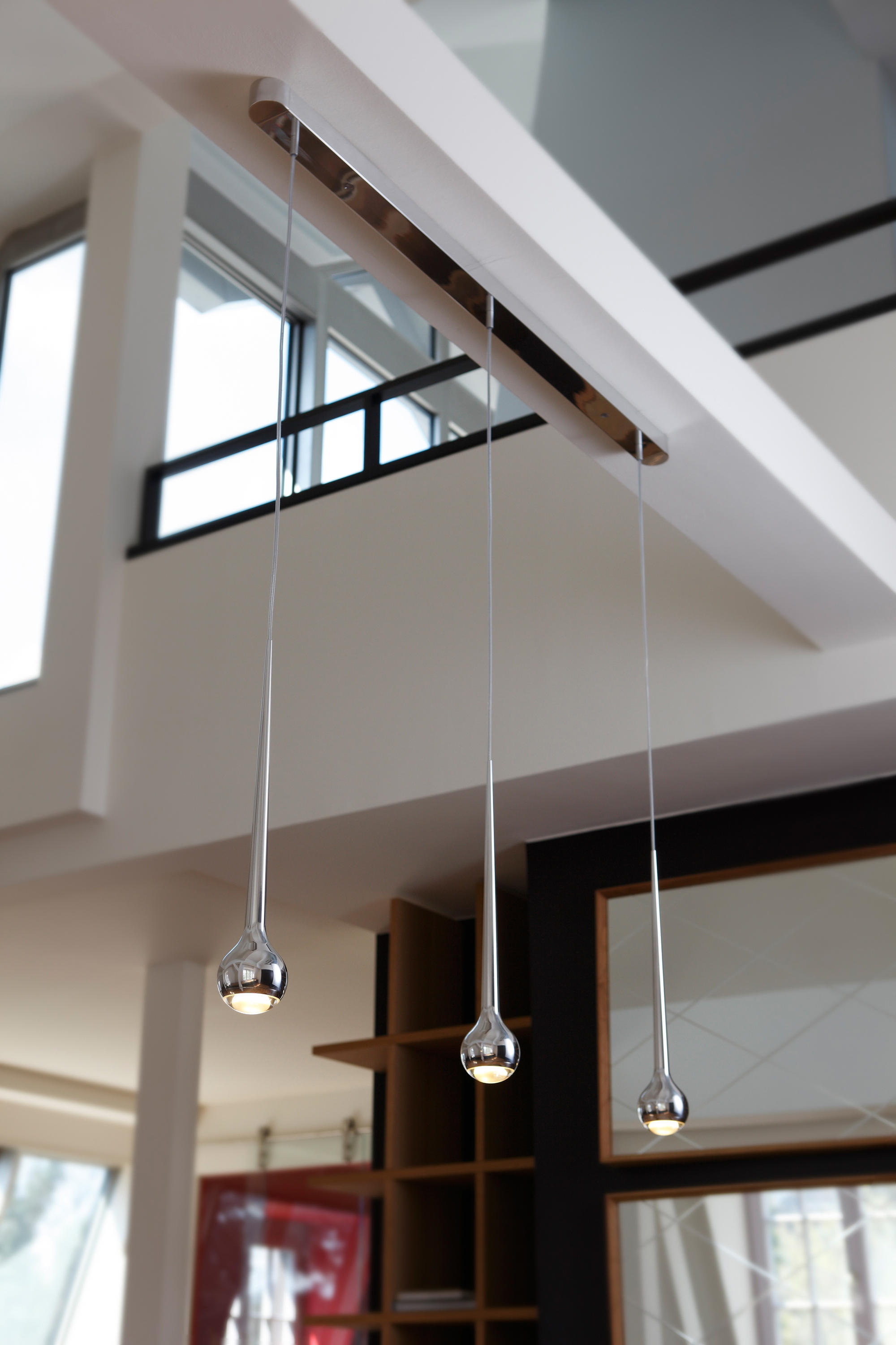 Falling Trio 120v Suspended Lights From Tobias Grau