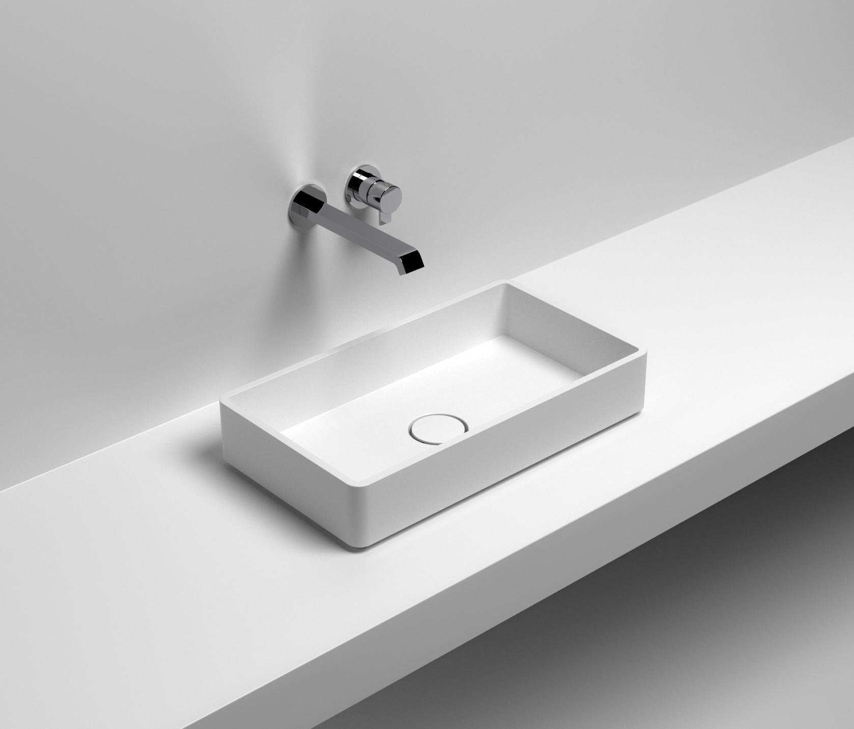 Senso Square Lavabo.New Square Wash Basins From Sign Architonic