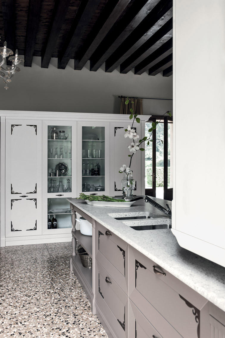 Etoile composition 1 cucine a parete cesar arredamenti for Profili arredamenti