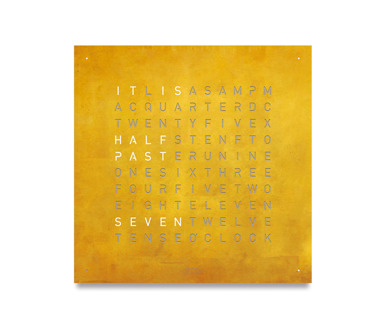 QLOCKTWO® CLASSIC CREATOR\'S EDITION GOLD - Uhren von BIEGERT&FUNK ...