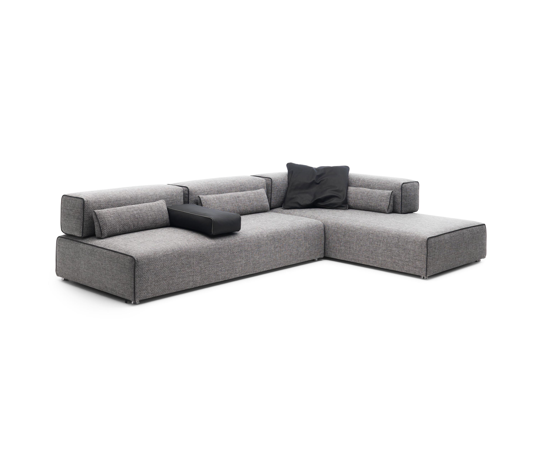 ponton corner sofa sofas from leolux architonic. Black Bedroom Furniture Sets. Home Design Ideas