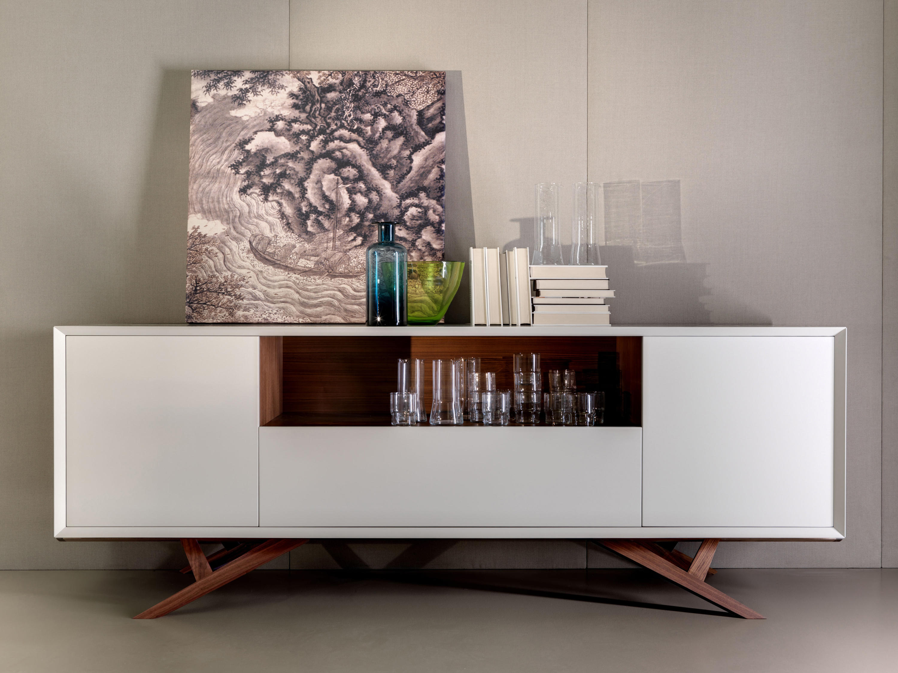 Milano madia sideboards from tisettanta architonic for Design milano