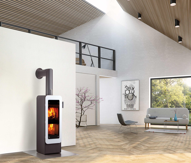 BIONIC FIRE - Wood burning stoves from Attika Feuer | Architonic