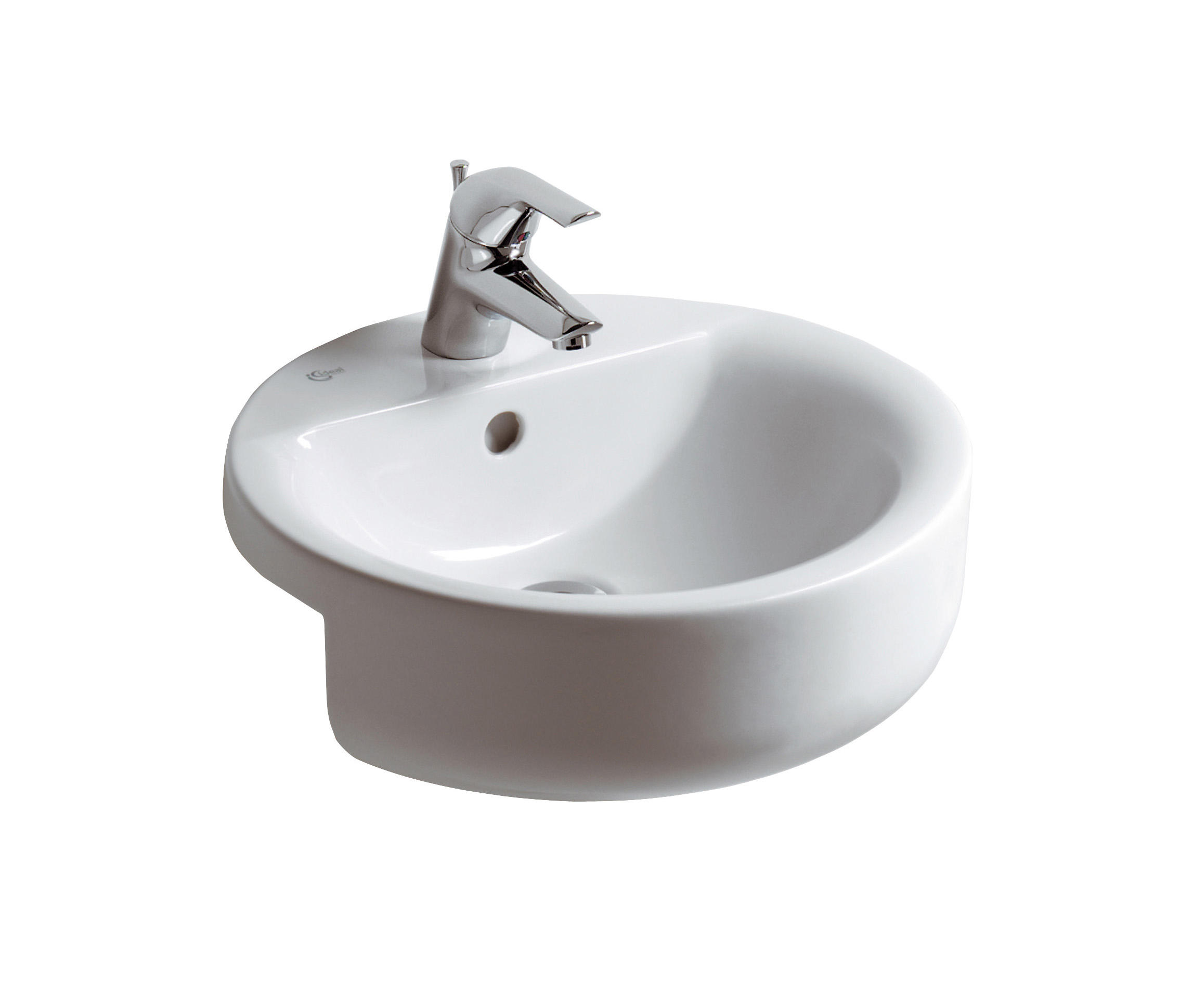 connect halbeinbauwaschtisch sphere 450mm waschtische. Black Bedroom Furniture Sets. Home Design Ideas