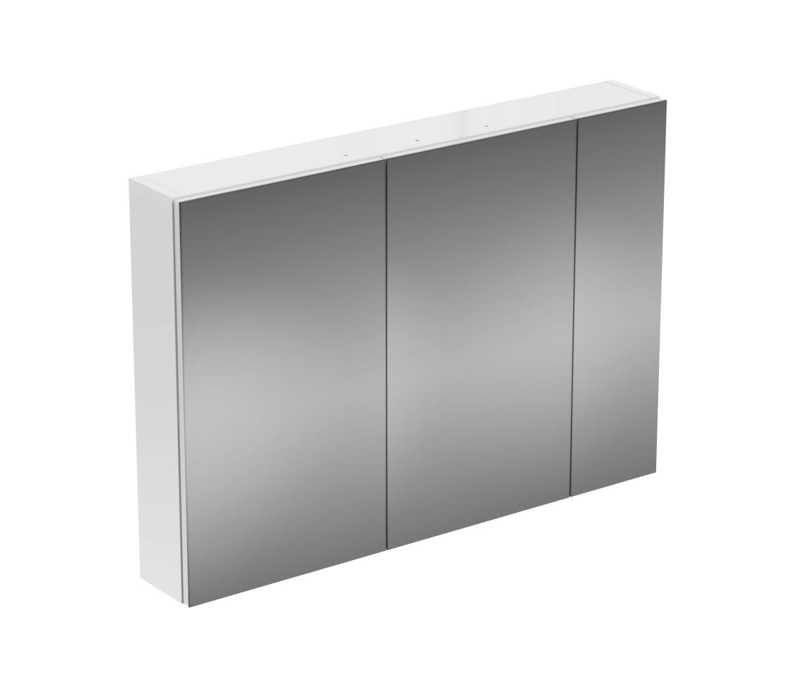 strada spiegelschrank 1000mm by ideal standard mirror cabinets