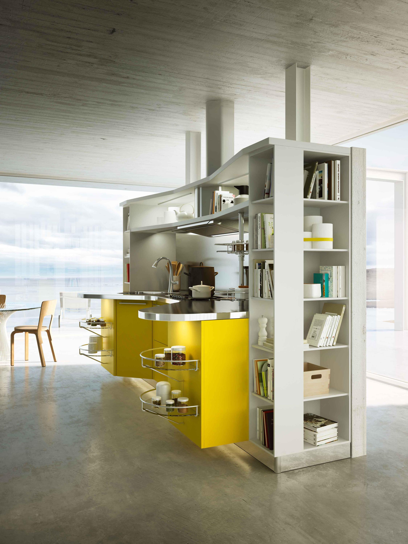 SKYLINE 2.0 GIALLO LEMON - Cucine a parete Snaidero | Architonic