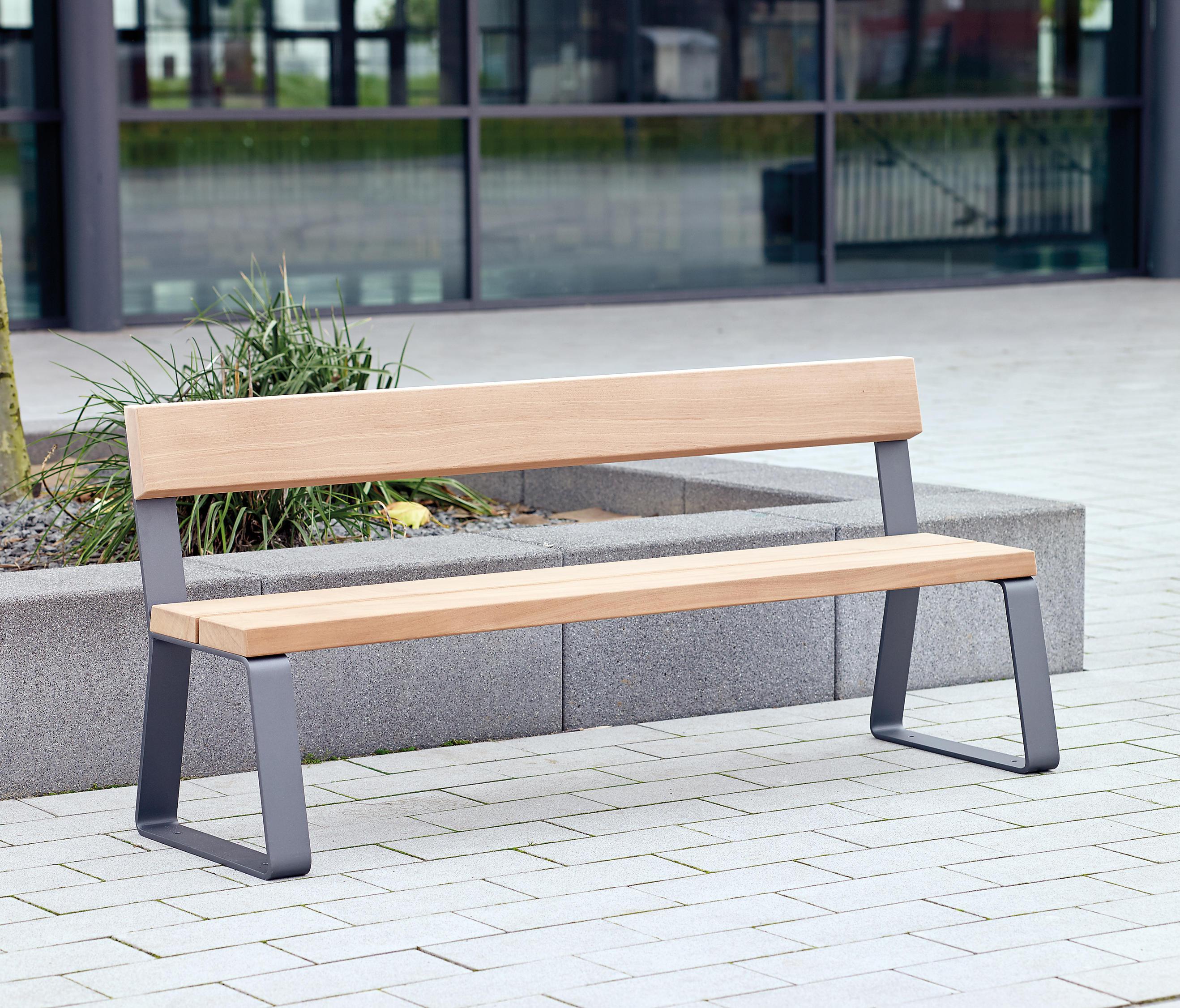 ... Campus Levis Bench By Westeifel Werke | Exterior Benches