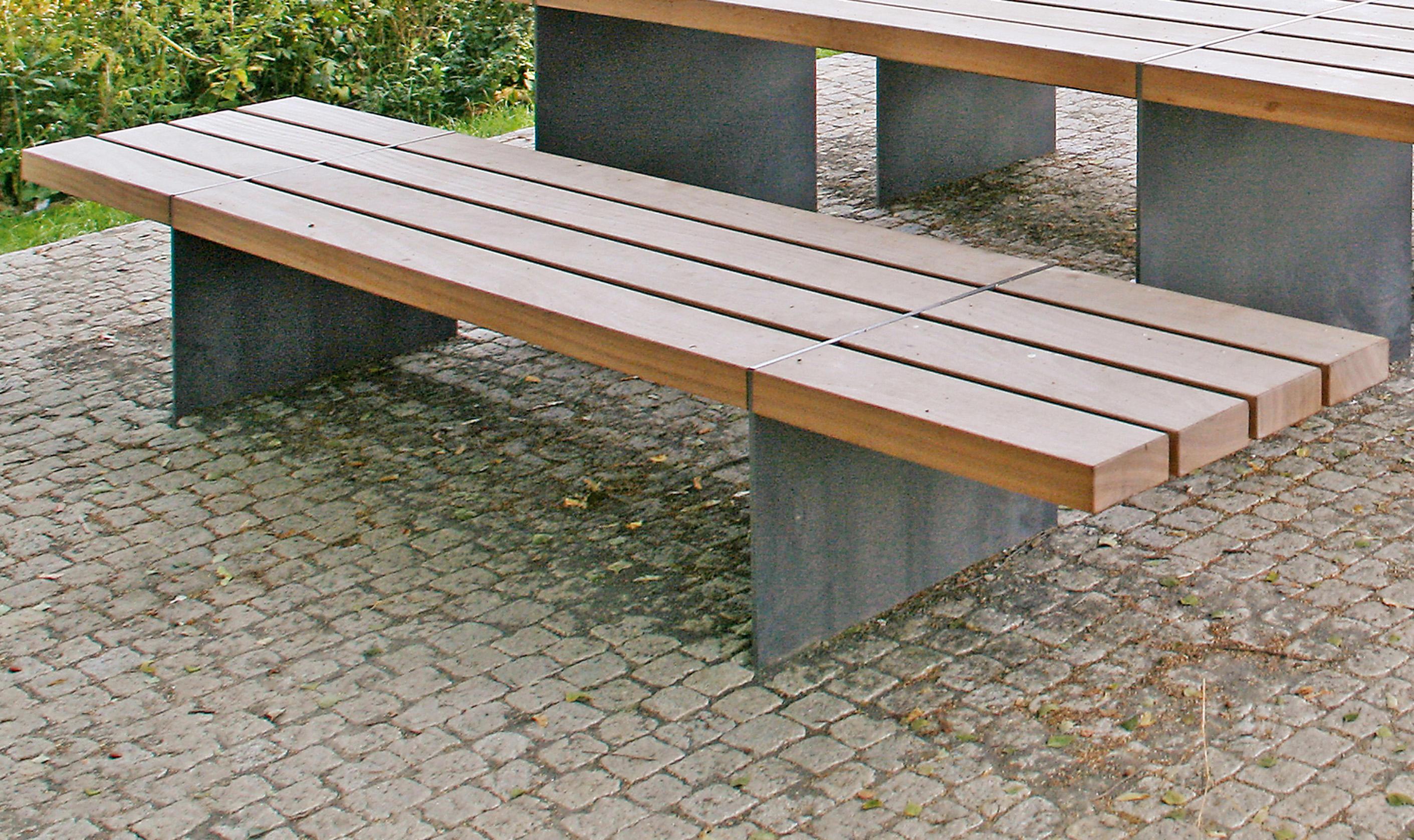 Tecto stoolbench 65 cm bancos de exterior de westeifel - Bancos para exterior ...