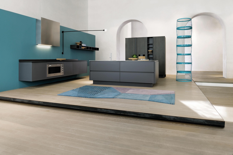 Emetrica cucine a parete ernestomeda architonic - Cucine a parete ...