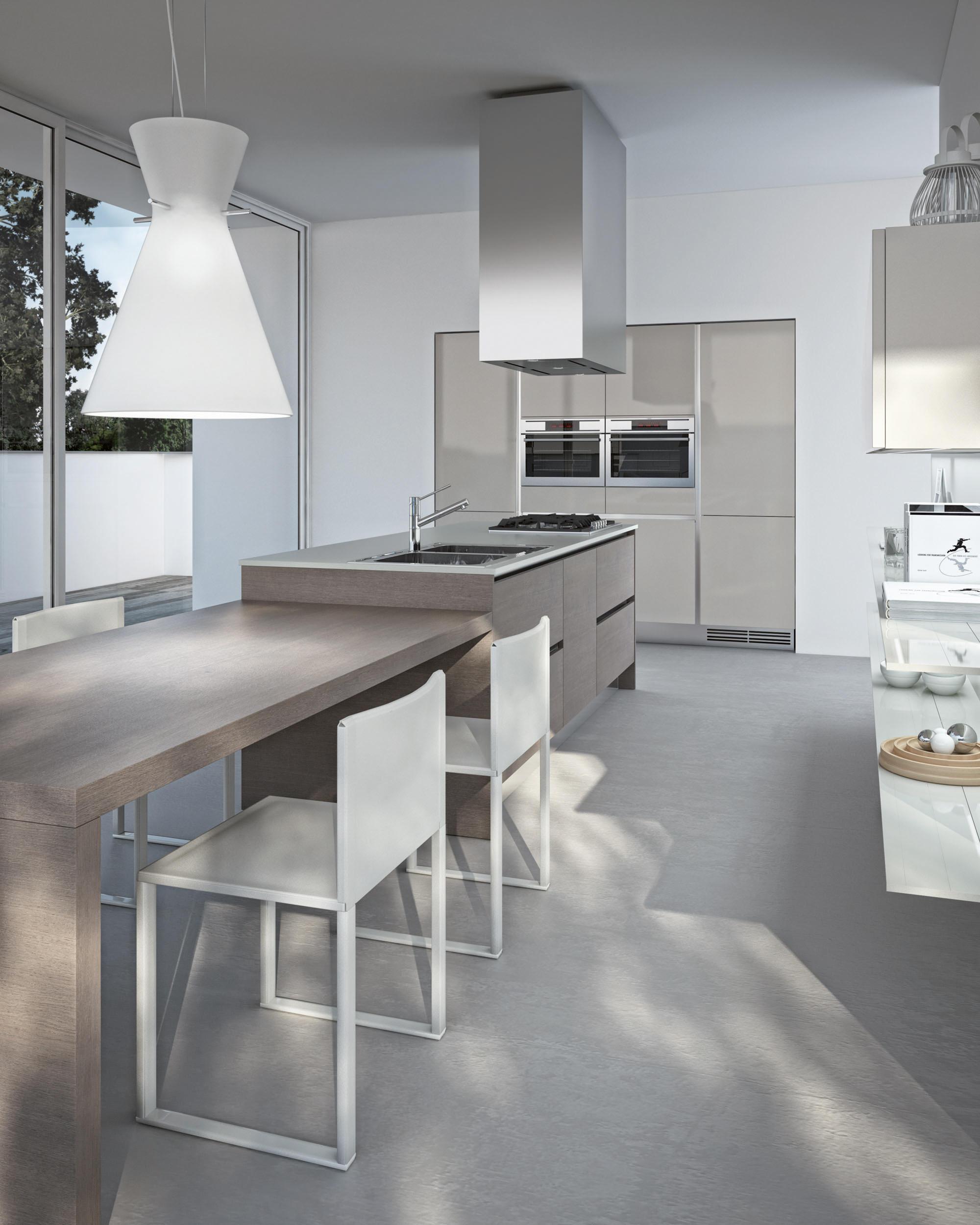 One cucine a parete ernestomeda architonic - Cucine a parete ...