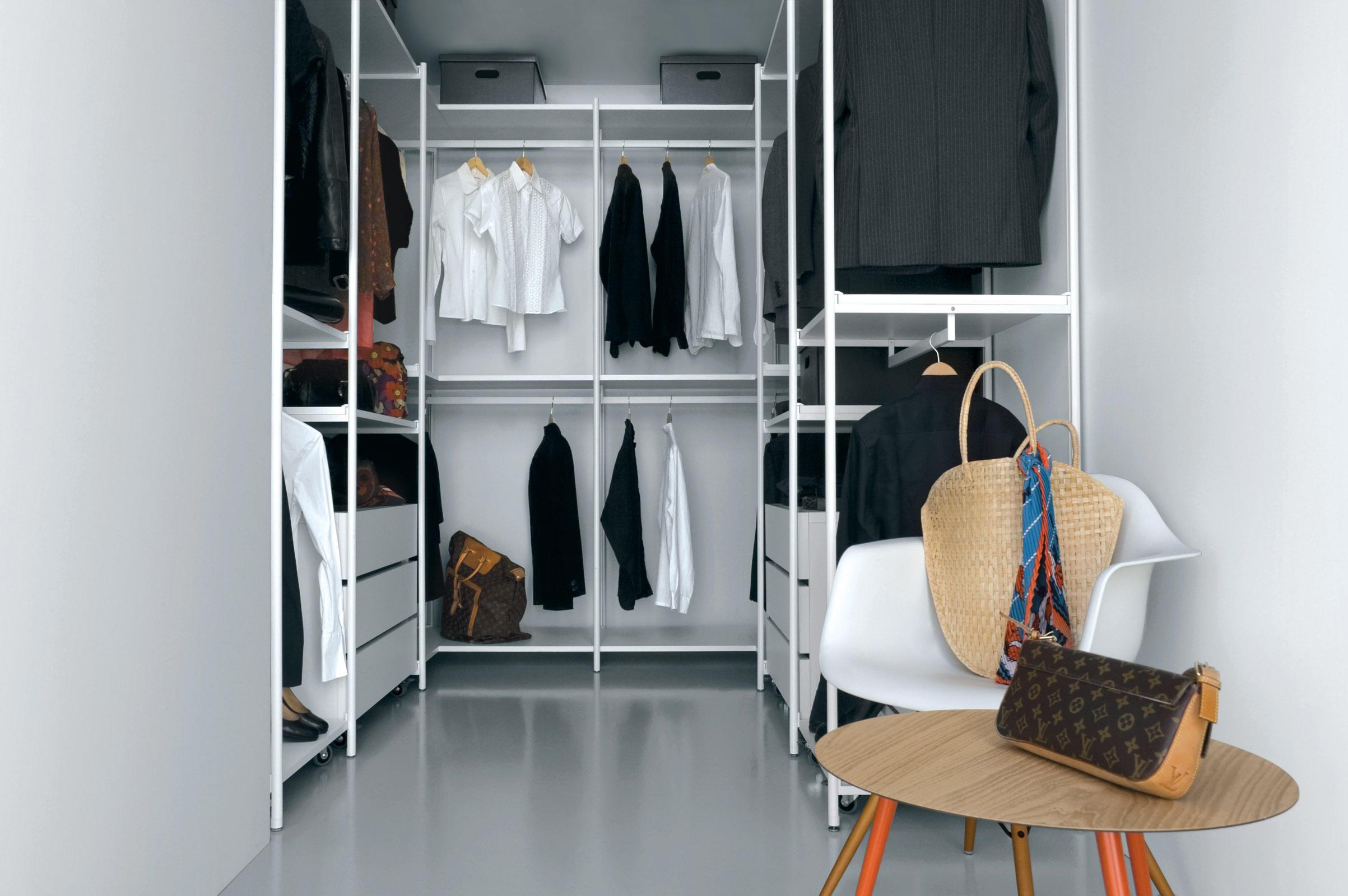 slide sl04 begehbare schr nke von extendo architonic. Black Bedroom Furniture Sets. Home Design Ideas