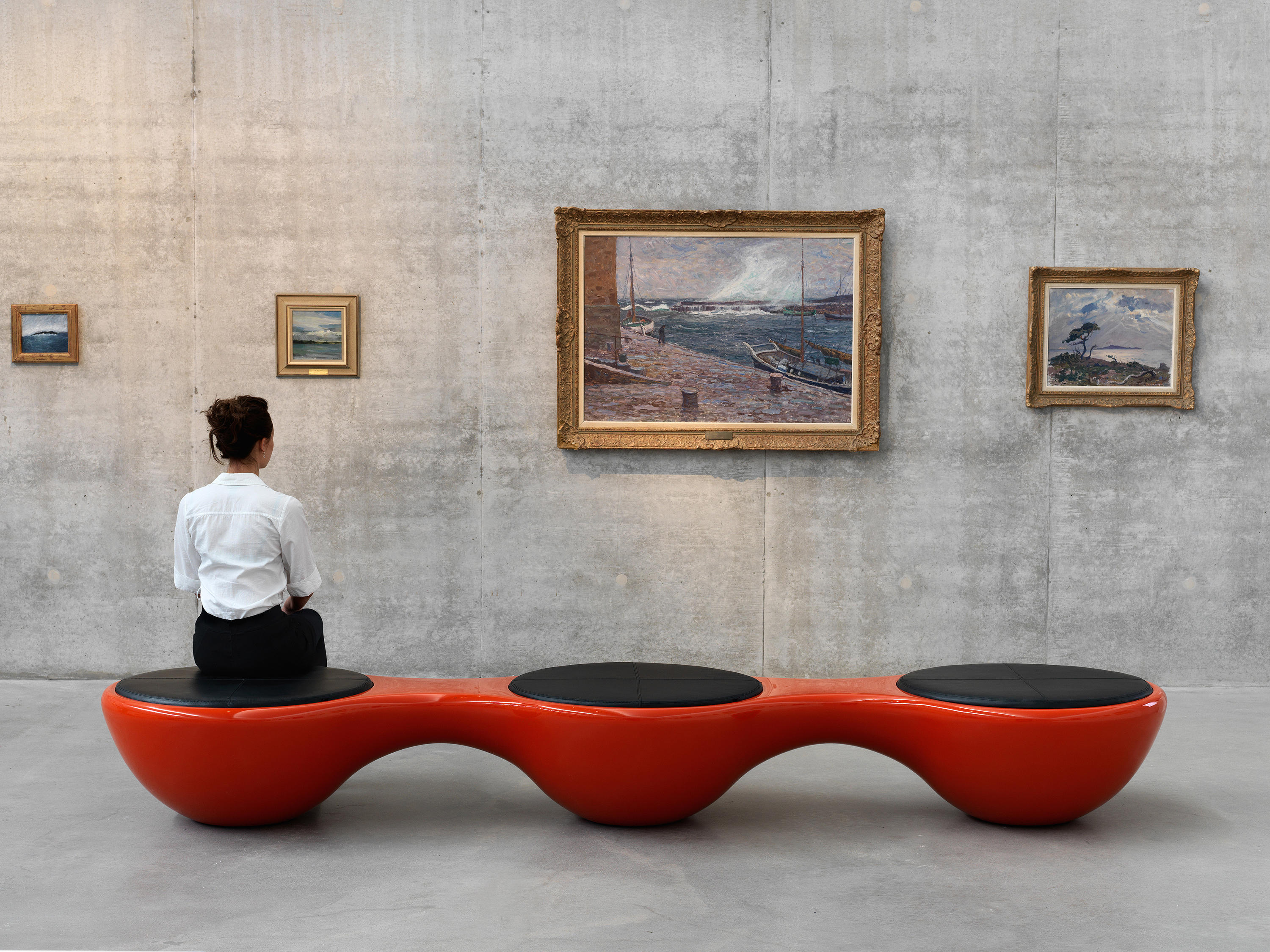 UNION BENCH PANORAMA Waiting area benches from Jangir Maddadi