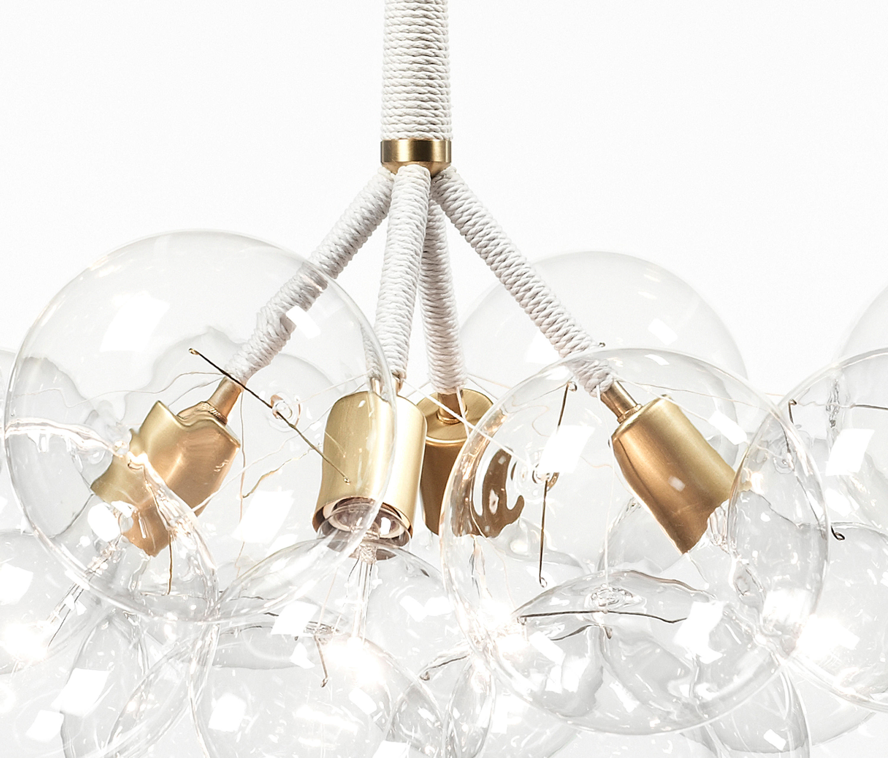 X LARGE BUBBLE CHANDELIER General lighting from PELLE