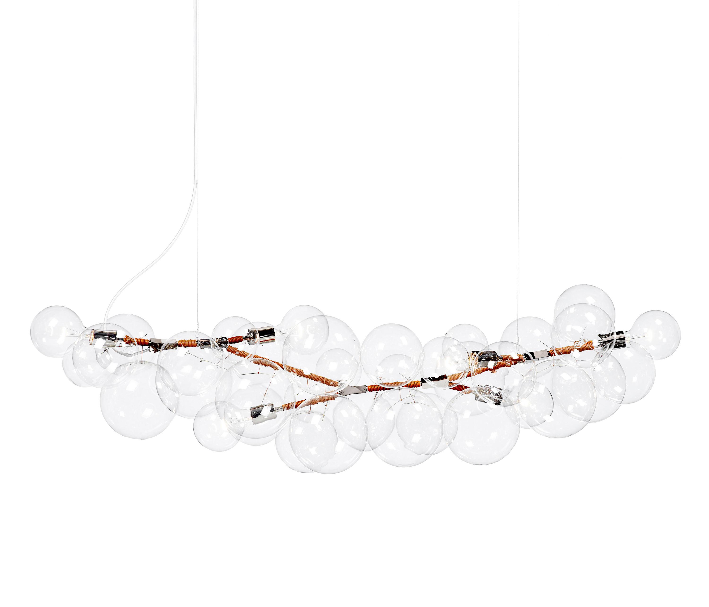 Long bubble chandelier iluminacin general de pelle architonic long bubble chandelier de pelle iluminacin general aloadofball Image collections