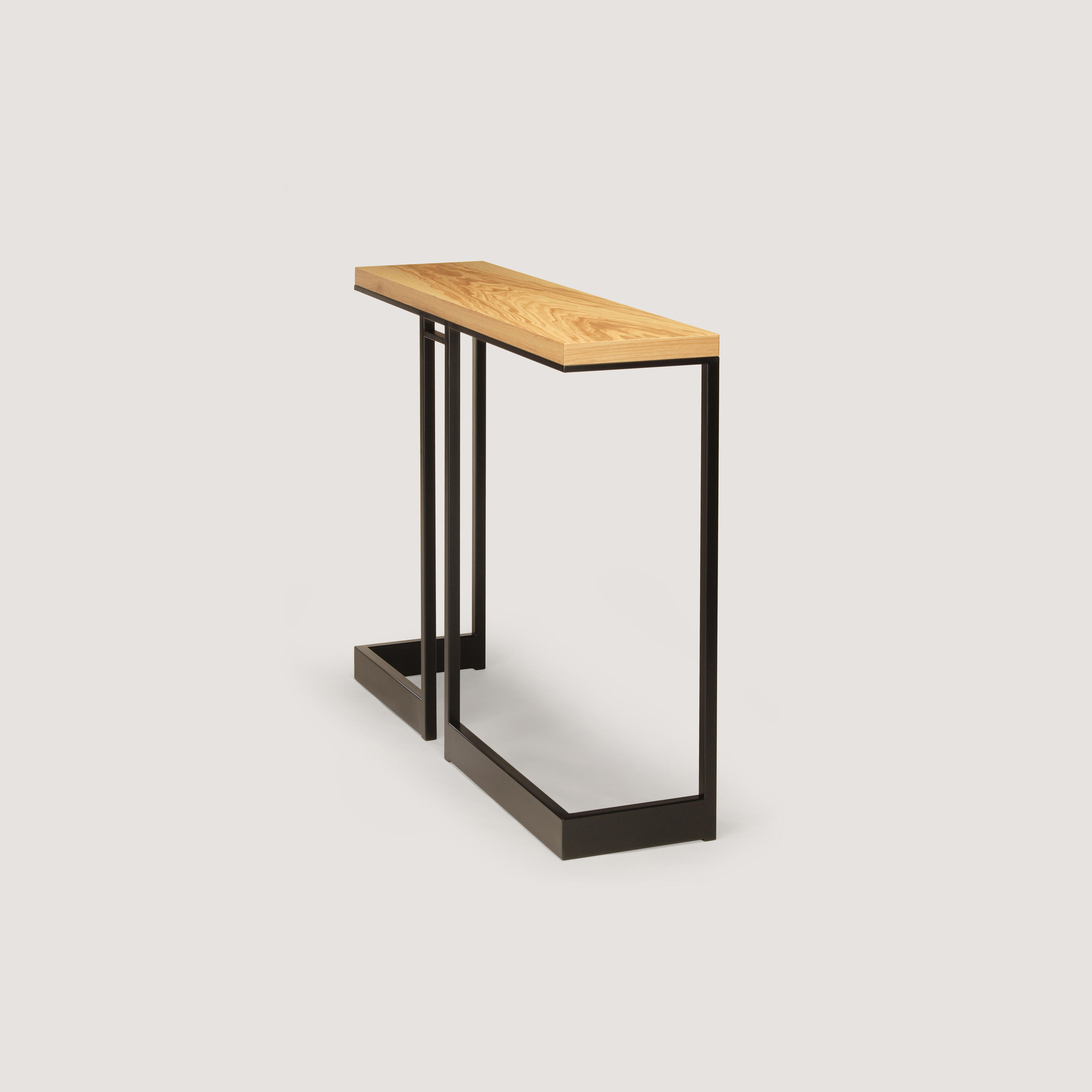 Wishbone Slab Top High Table Console Tables From Skram
