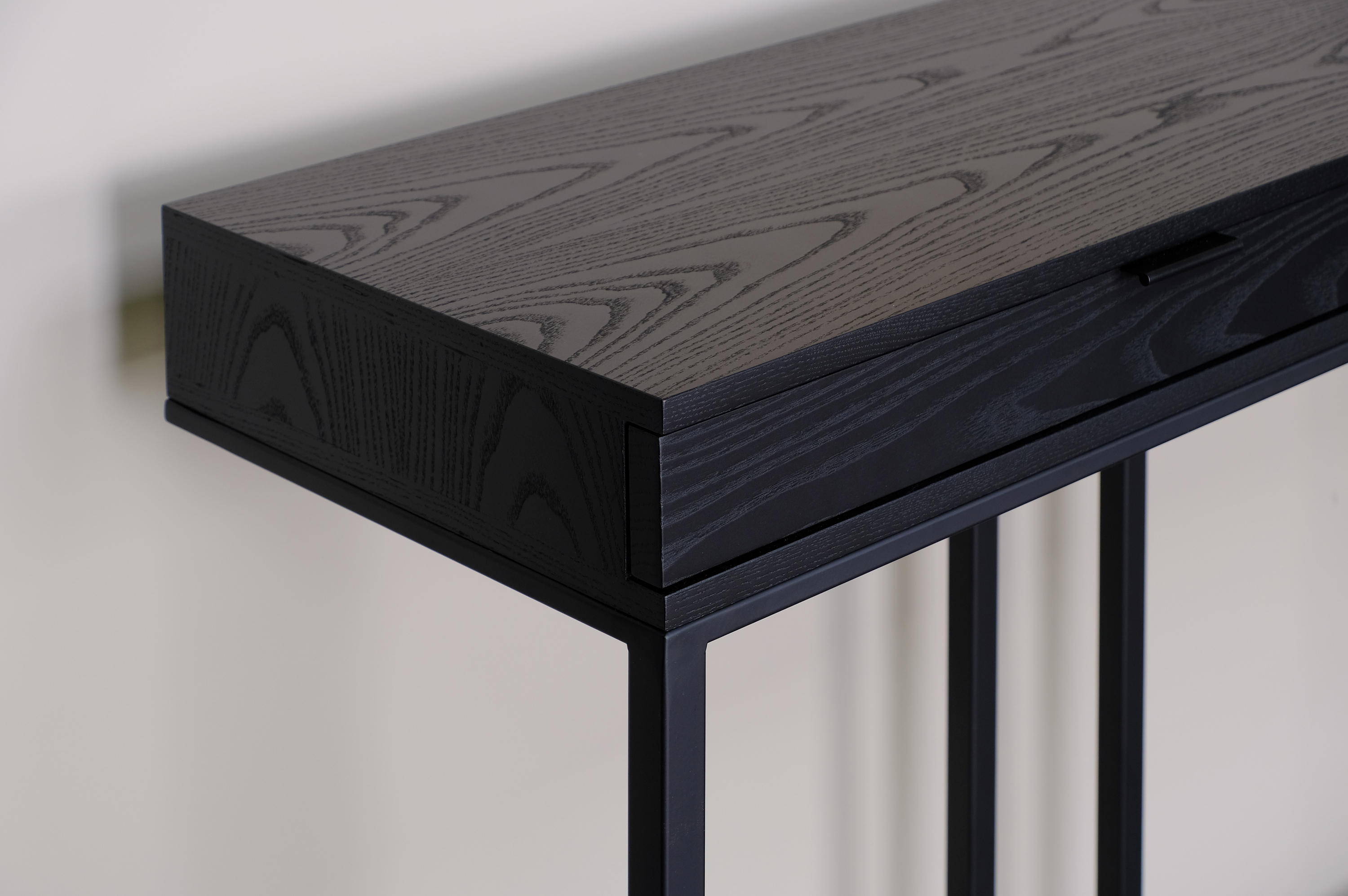 Wishbone 2 Drawer High Table Console Tables From Skram