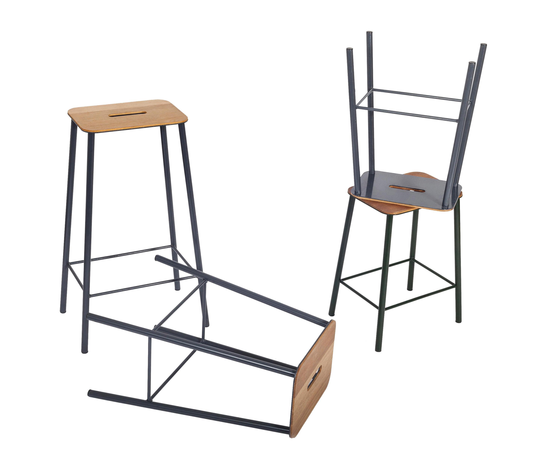Adam stool high barhocker von frama architonic for Barhocker englisch