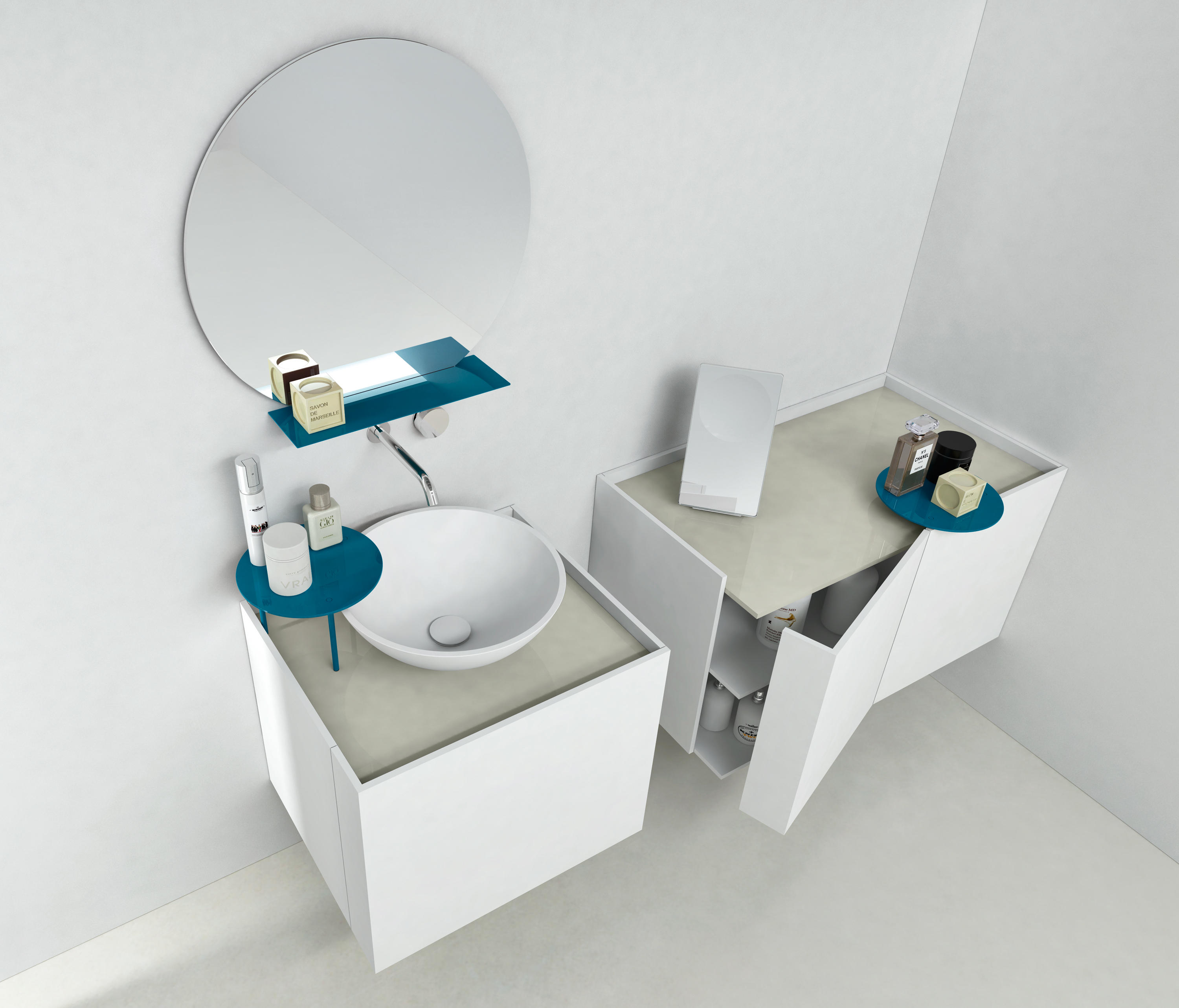 Tender wall cabinets from makro architonic for Bathroom cabinets makro