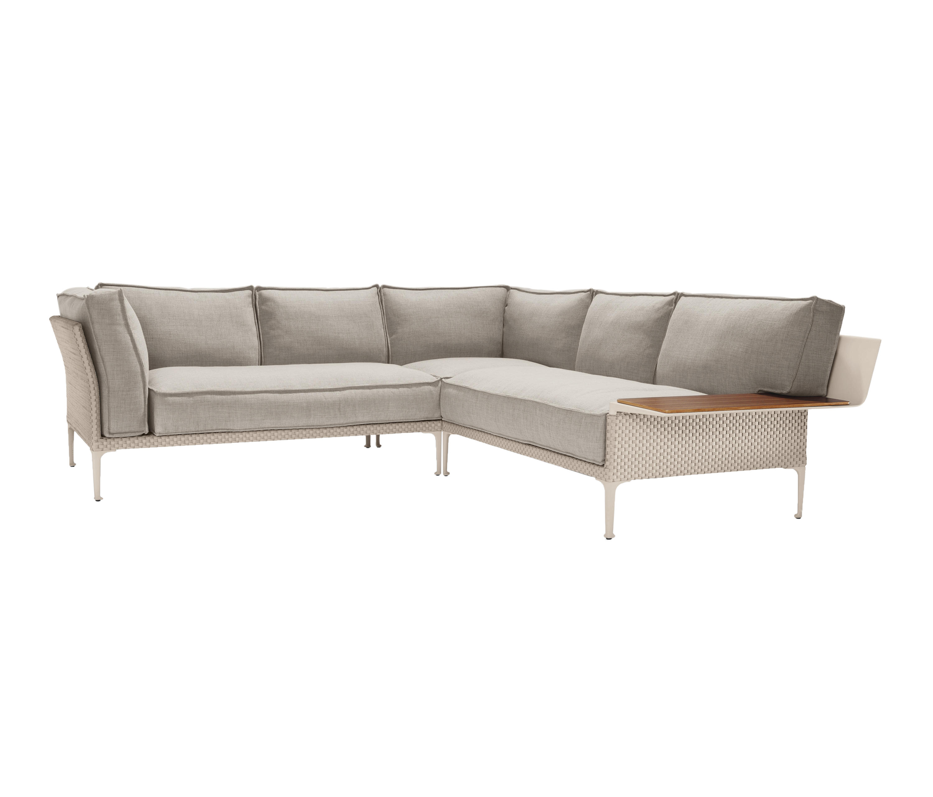 rayn modular sofa system garden sofas from dedon. Black Bedroom Furniture Sets. Home Design Ideas