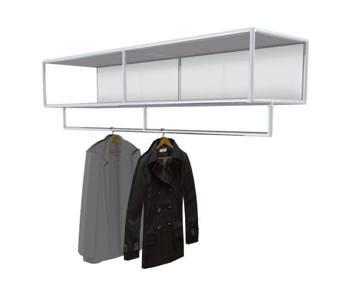 bosse h ngegarderobe wandgarderoben von bosse design architonic. Black Bedroom Furniture Sets. Home Design Ideas