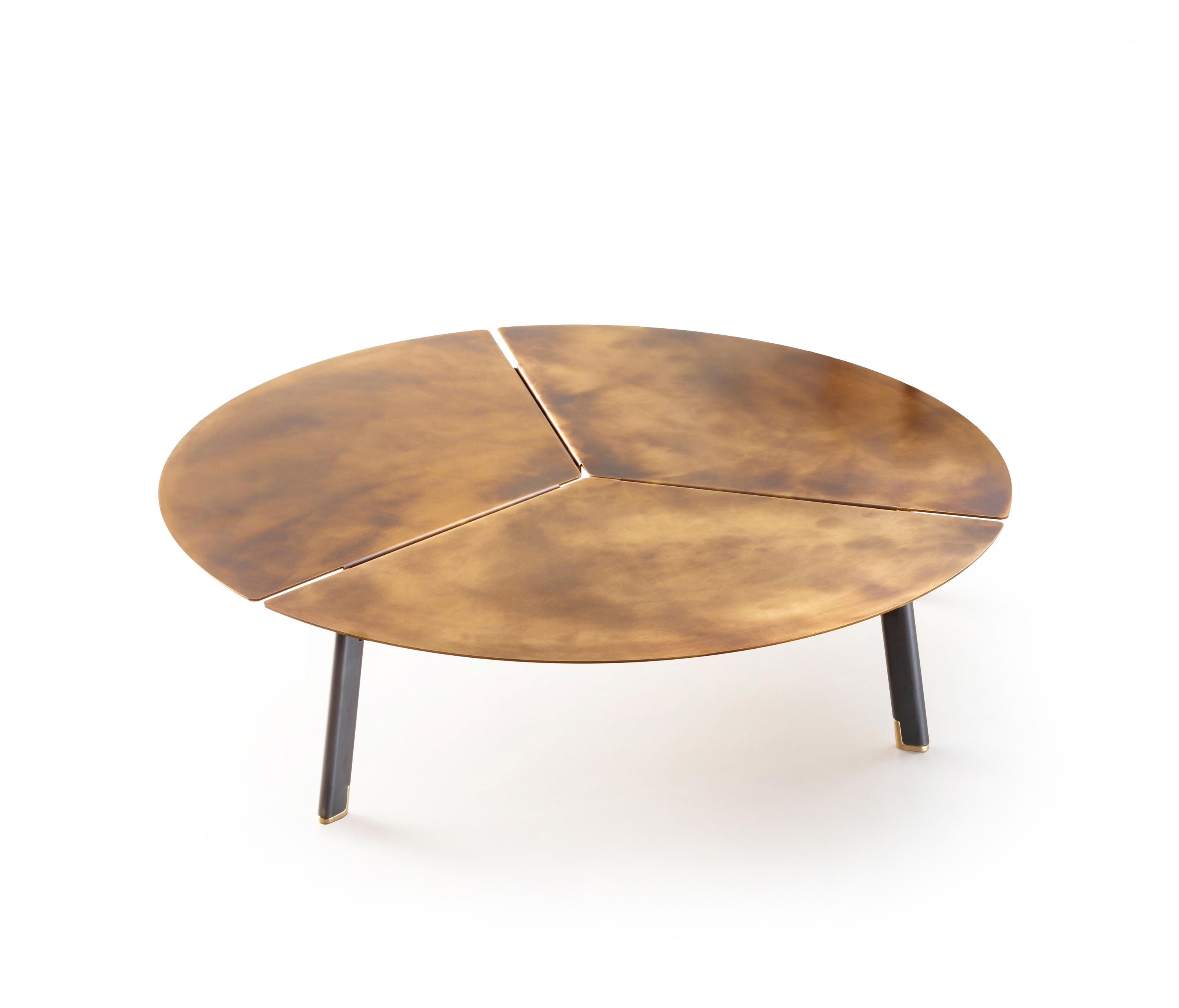 SIDE TABLES WITH TOP IN BRONZE - High quality designer SIDE TABLES ...
