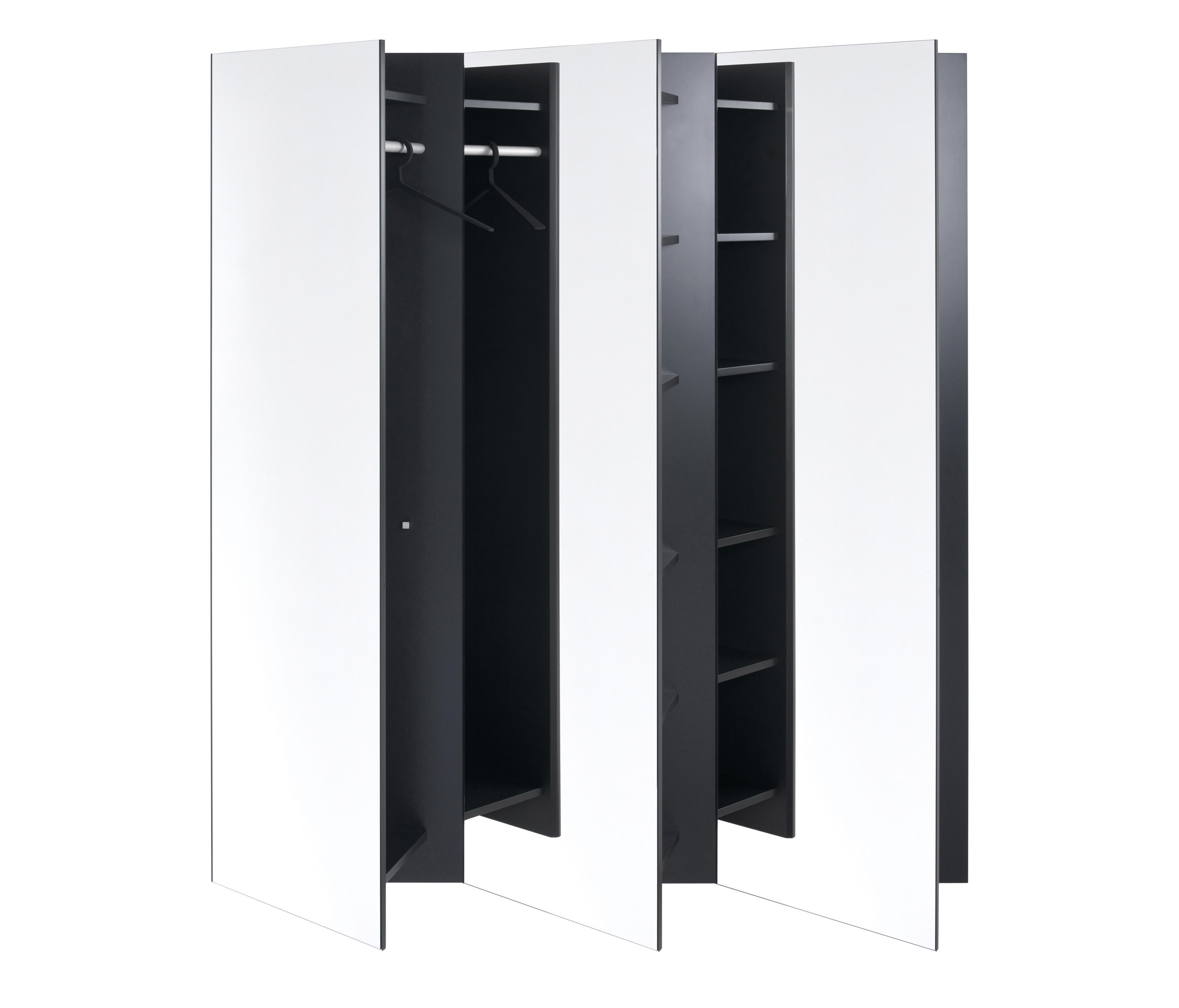 skew wall mounted wardrobe built in wardrobes from sch nbuch architonic. Black Bedroom Furniture Sets. Home Design Ideas