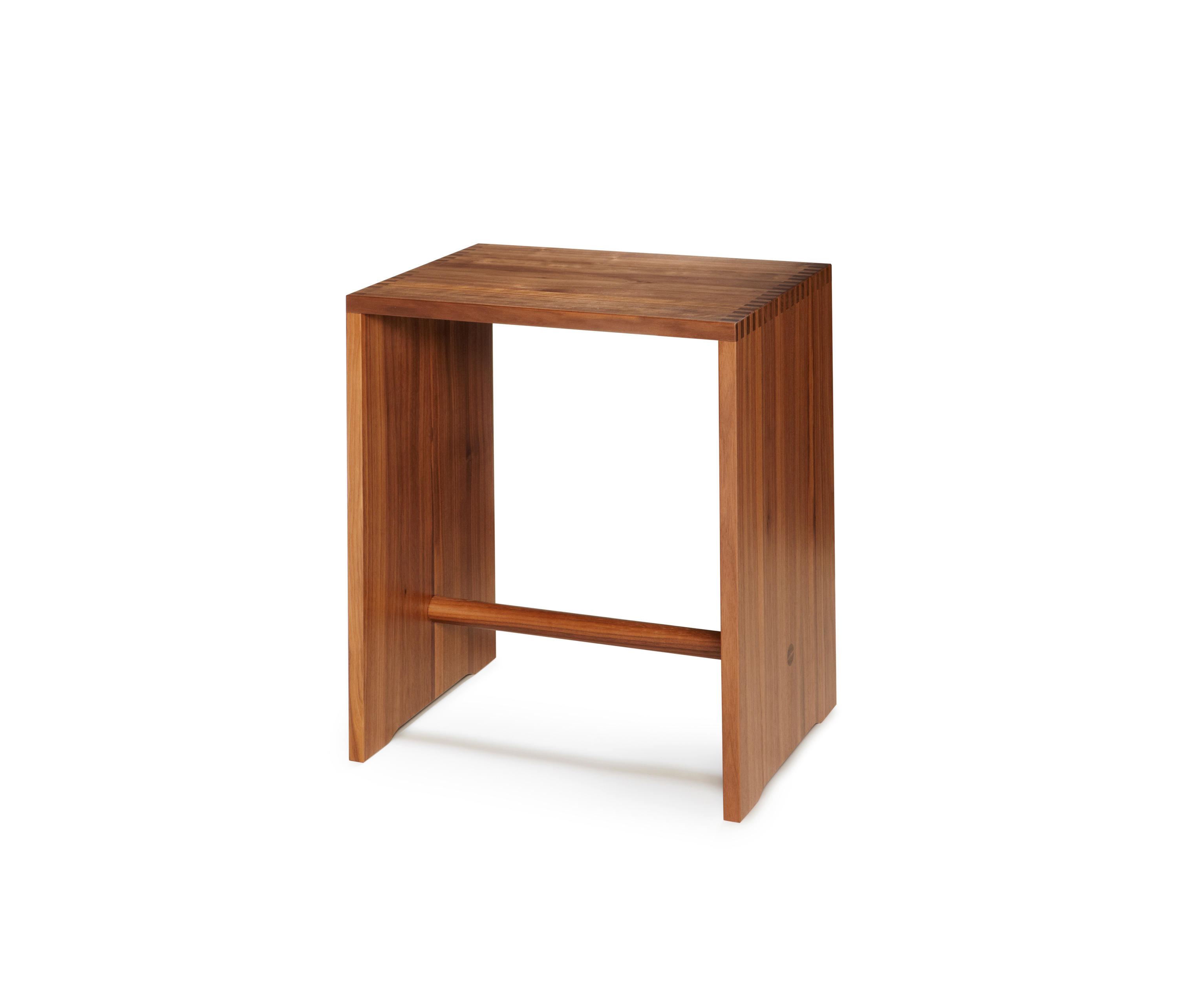 bill ulmer stool walnut night stands from wb form ag. Black Bedroom Furniture Sets. Home Design Ideas