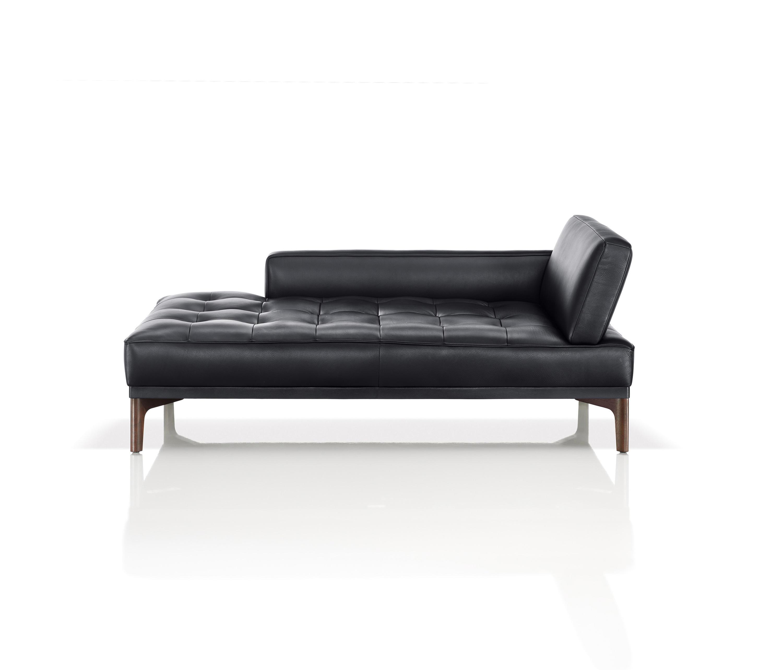 chaise lounge sofa leder. Black Bedroom Furniture Sets. Home Design Ideas