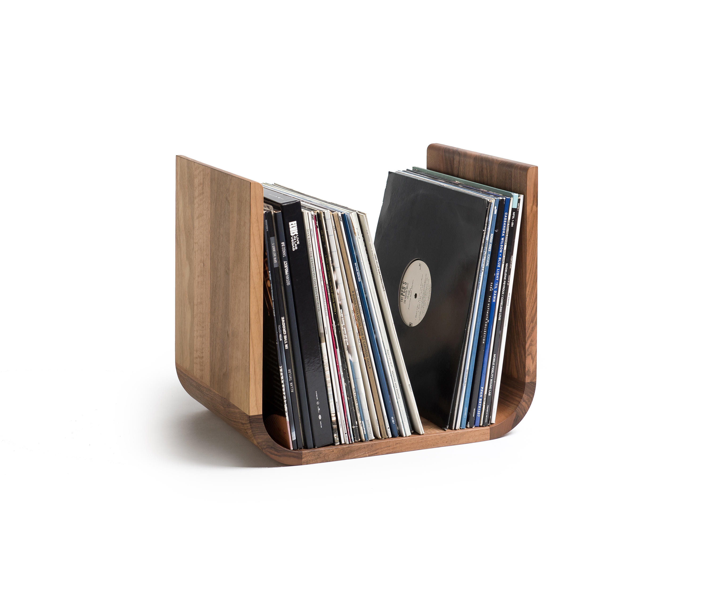 u shaped vinyl record holder storage boxes from. Black Bedroom Furniture Sets. Home Design Ideas
