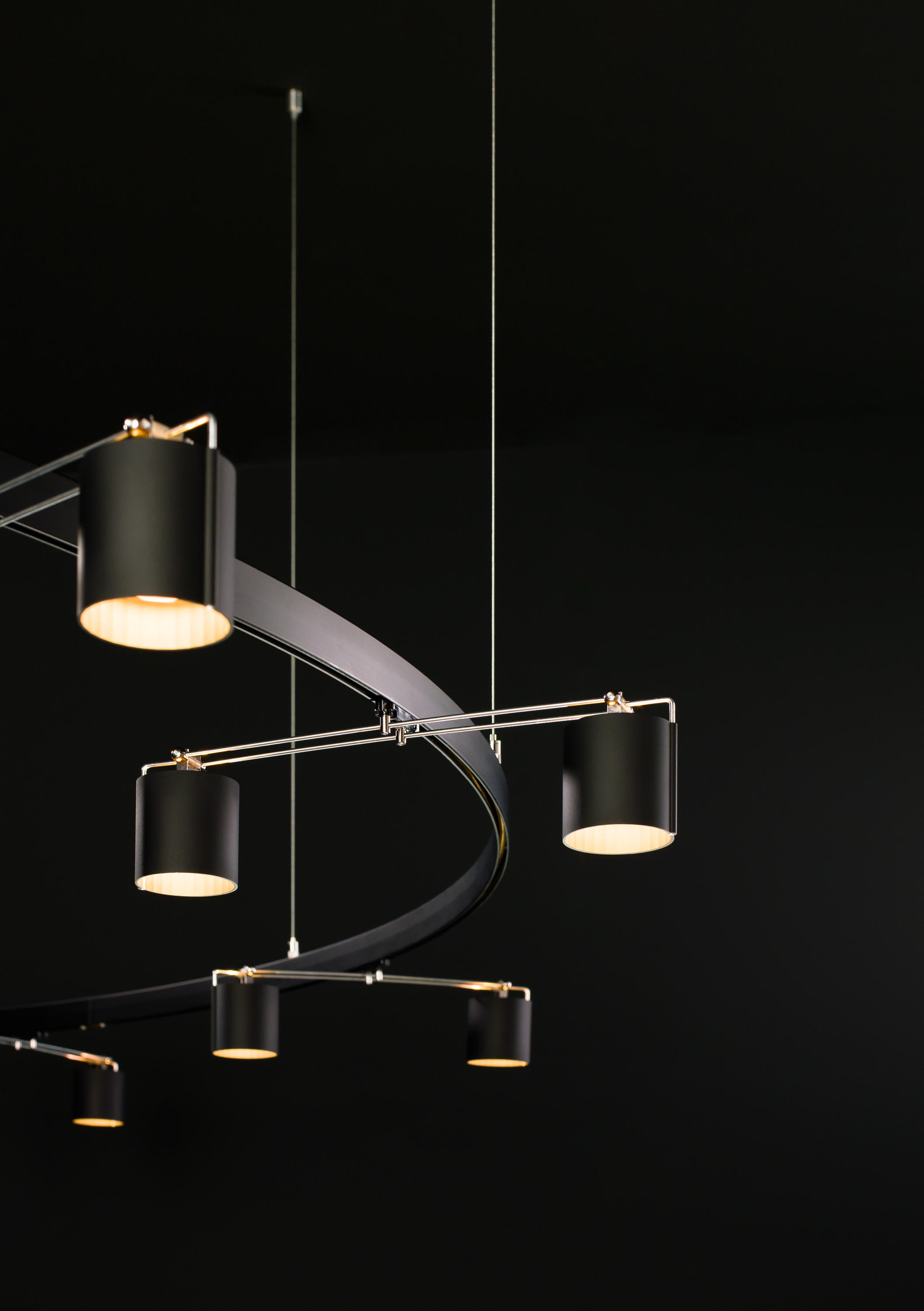 balance 25 track lighting buschfeld design suspended systems a