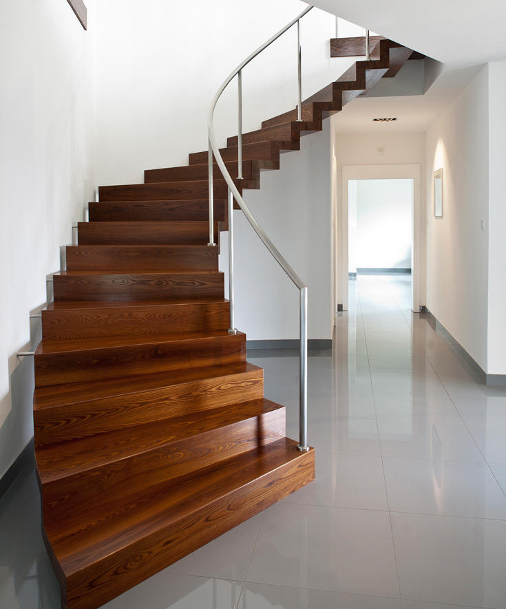 ... Faltwerk Modern By Siller Treppen | Wood Stairs ... Home Design Ideas
