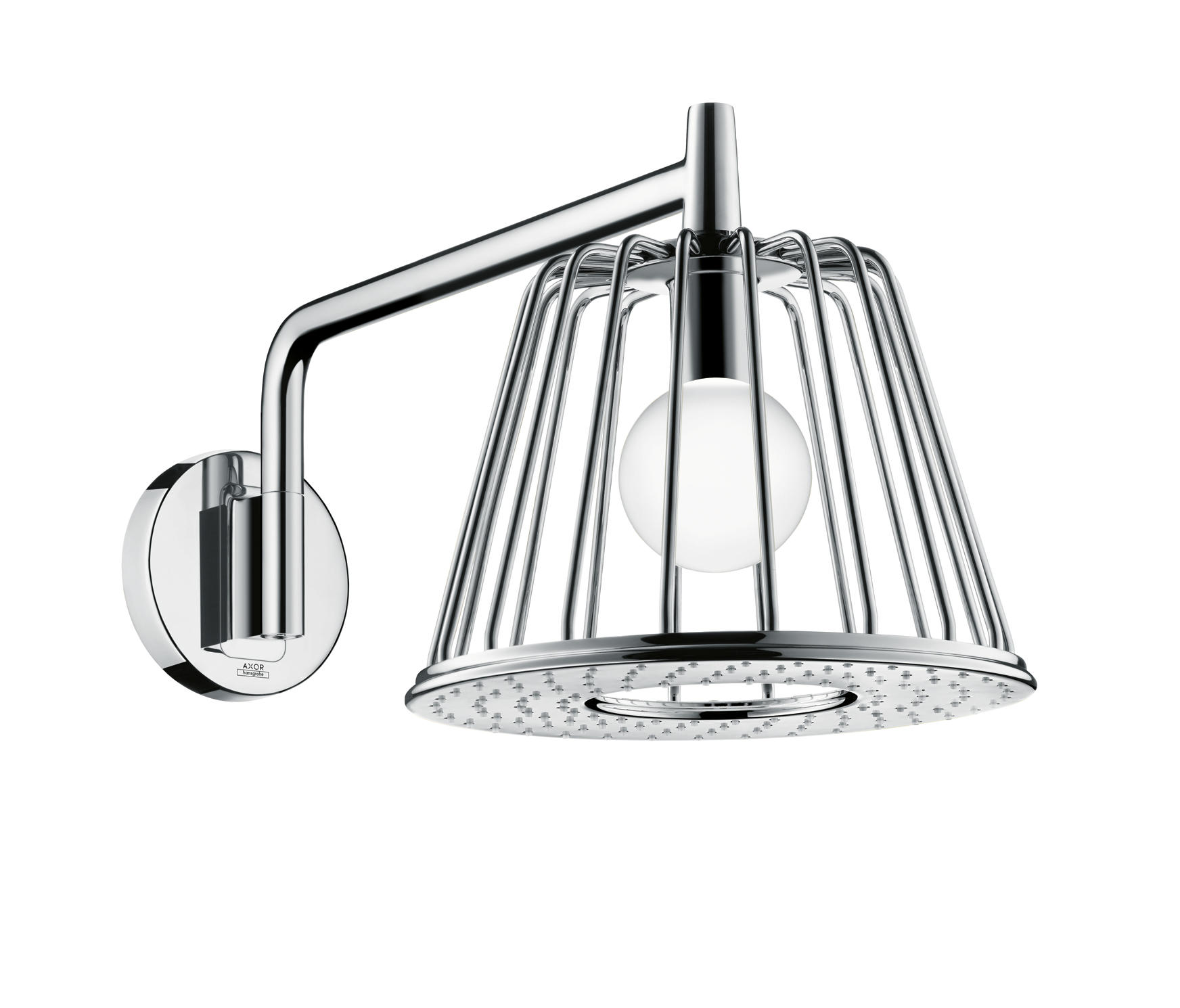 AXOR LAMPSHOWER 1JET WITH SHOWER ARM - Shower taps / mixers from ...