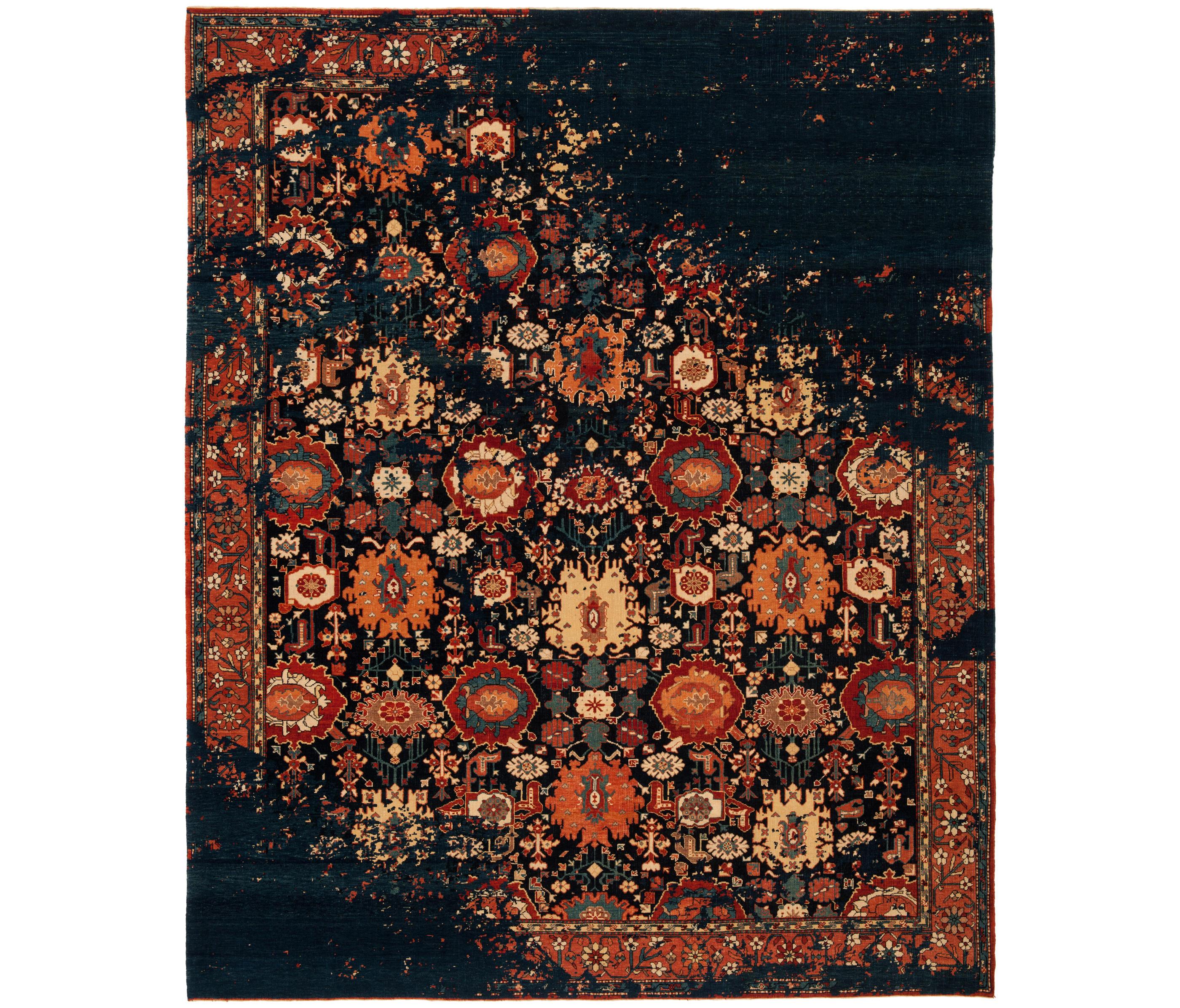 erased heritage bidjar paddington raved formatteppiche designerteppiche von jan kath. Black Bedroom Furniture Sets. Home Design Ideas