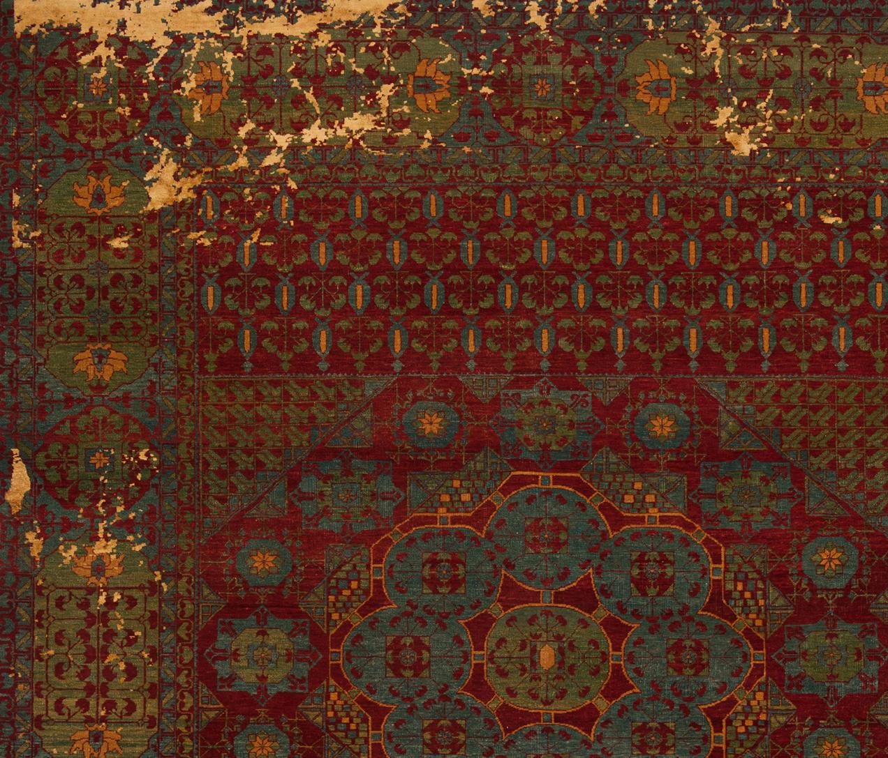 erased heritage mamluk kensington little rocked formatteppiche designerteppiche von jan kath. Black Bedroom Furniture Sets. Home Design Ideas