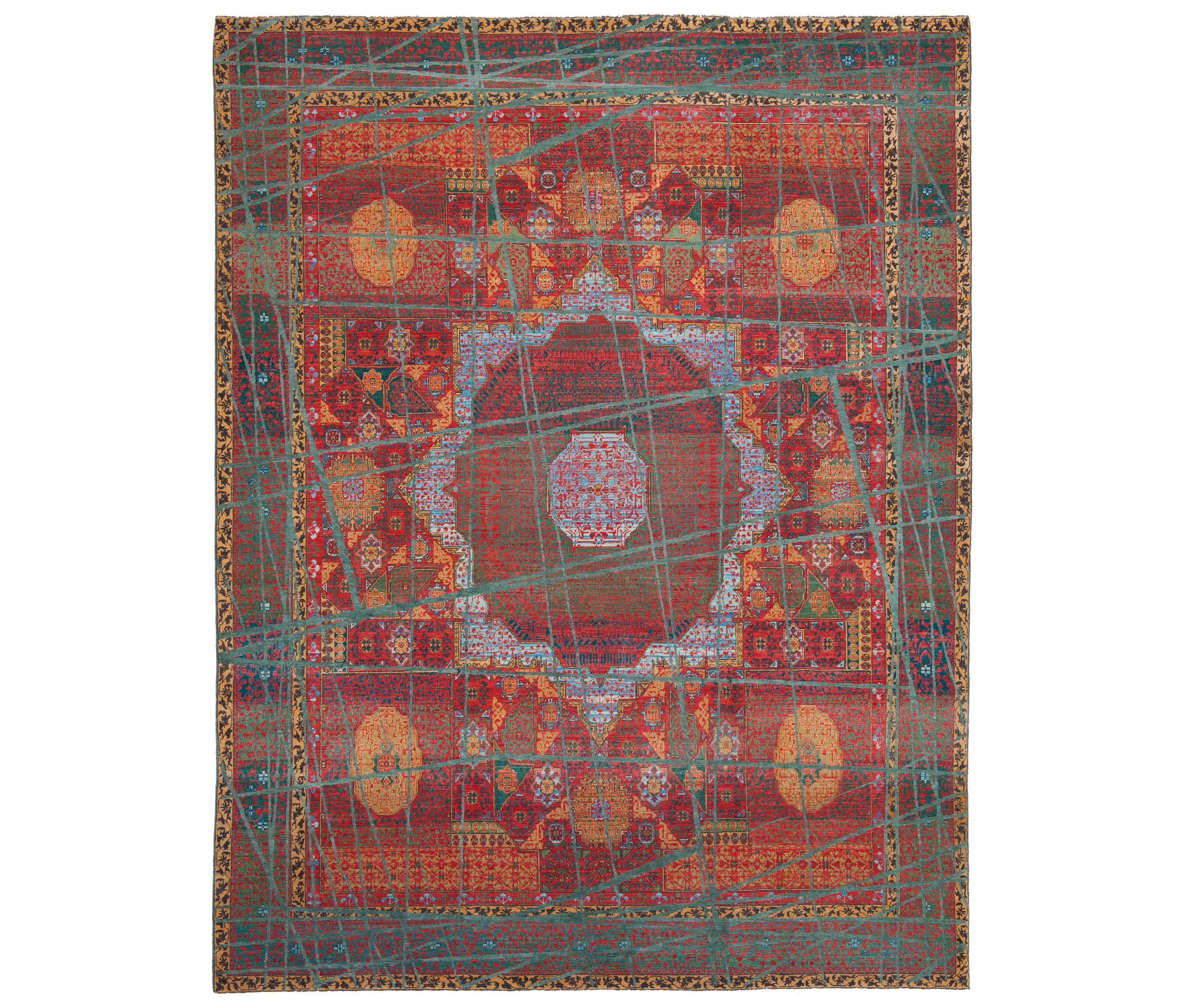 erased heritage mamluk columbus wrapped formatteppiche designerteppiche von jan kath. Black Bedroom Furniture Sets. Home Design Ideas