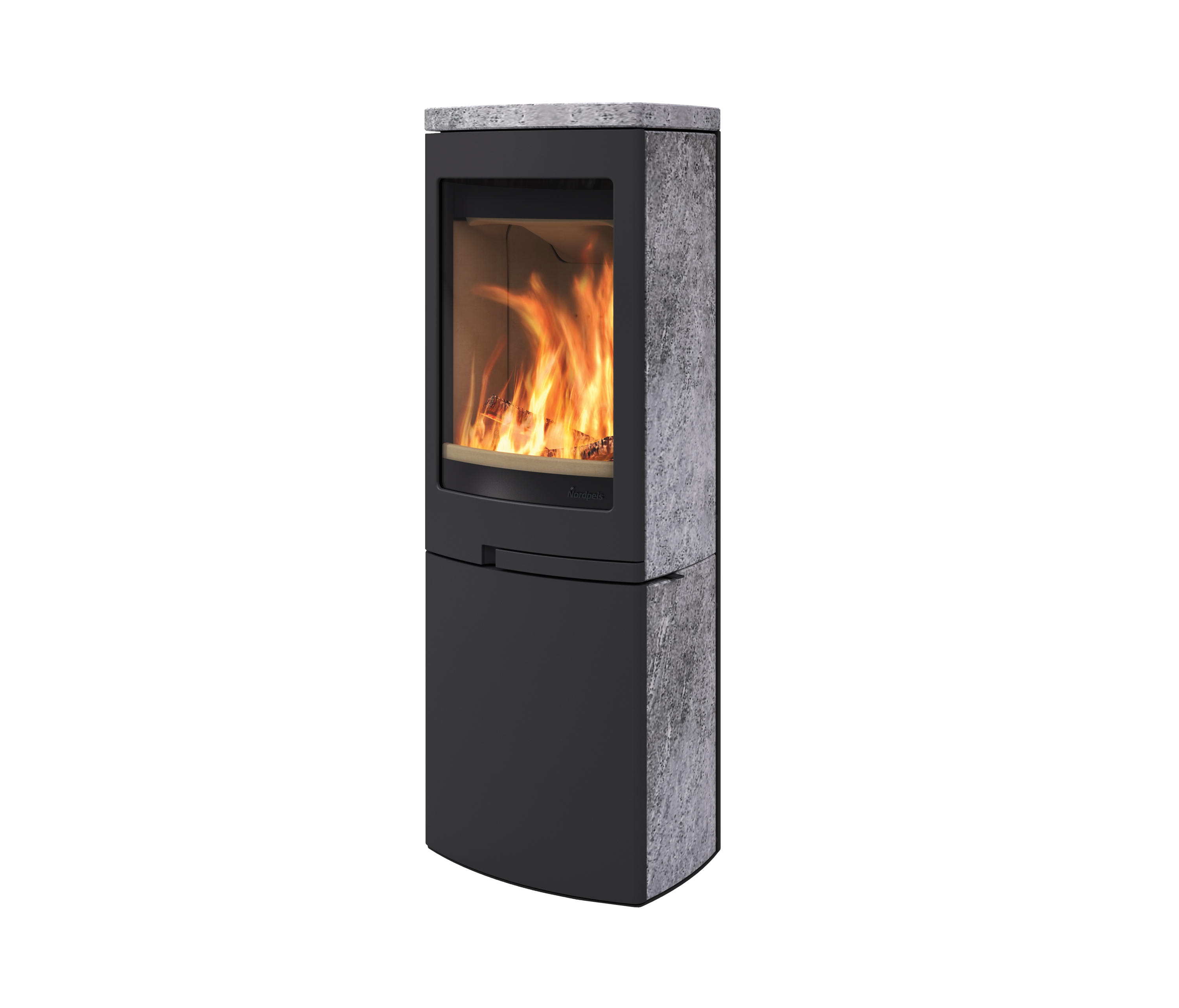 DUO 6 - Wood burning stoves from Nordpeis | Architonic